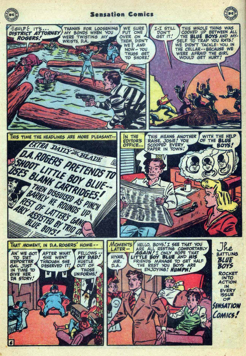 Read online Sensation (Mystery) Comics comic -  Issue #73 - 22