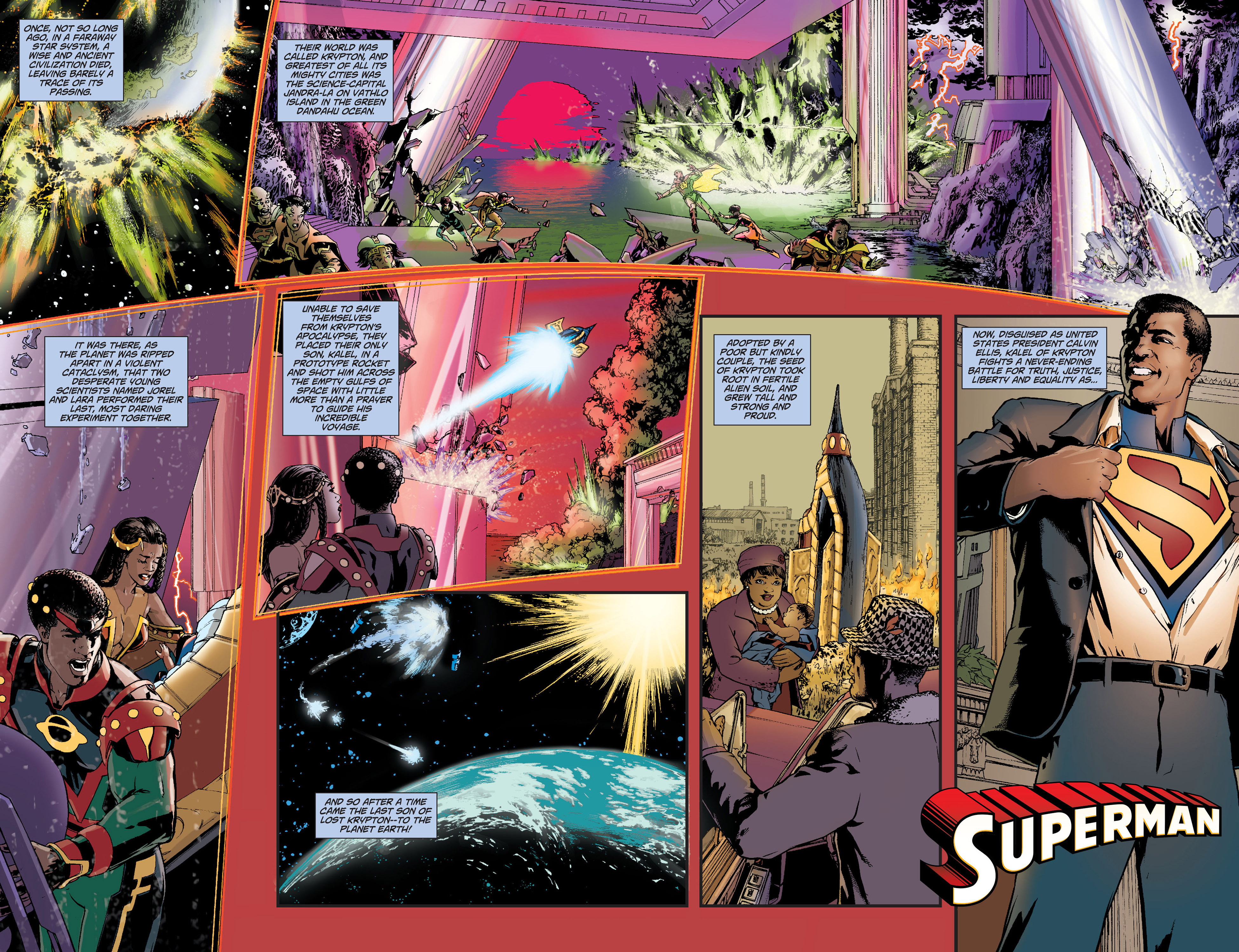Read online Action Comics (2011) comic -  Issue #9 - 10