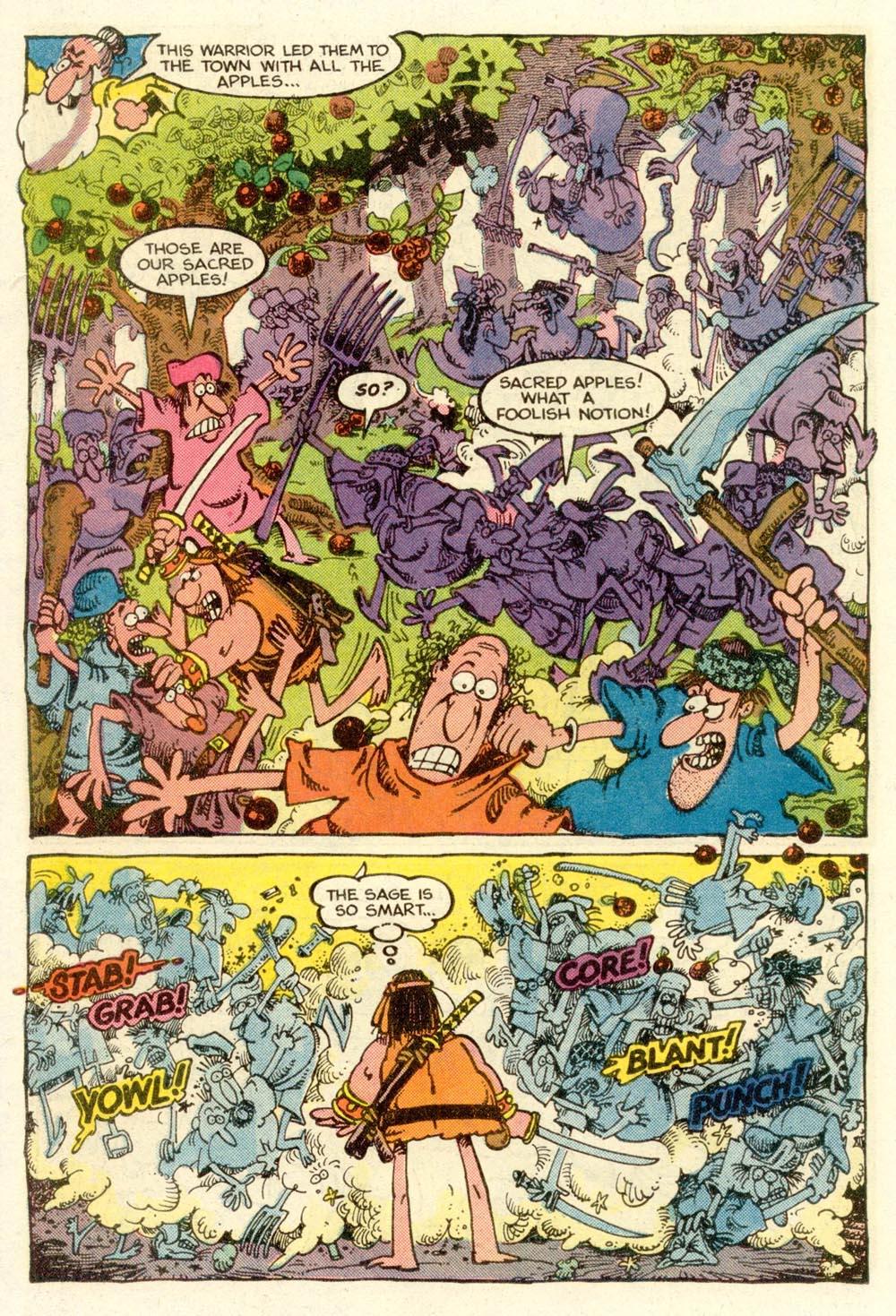 Read online Sergio Aragonés Groo the Wanderer comic -  Issue #9 - 16