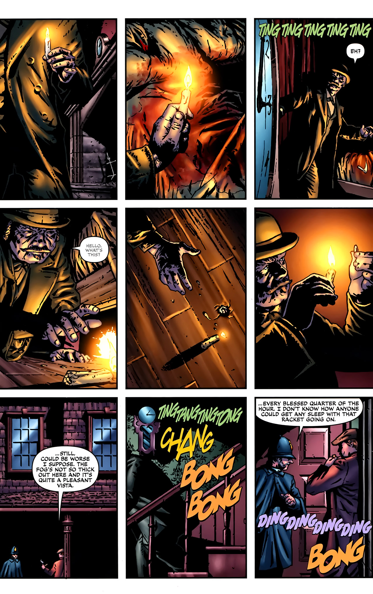 Read online Sherlock Holmes (2009) comic -  Issue #2 - 21