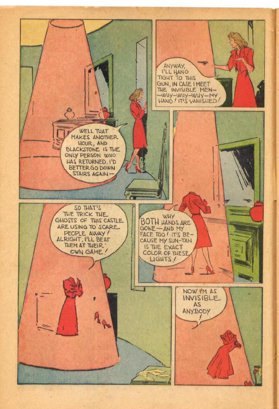 Read online Super-Magician Comics comic -  Issue #38 - 10