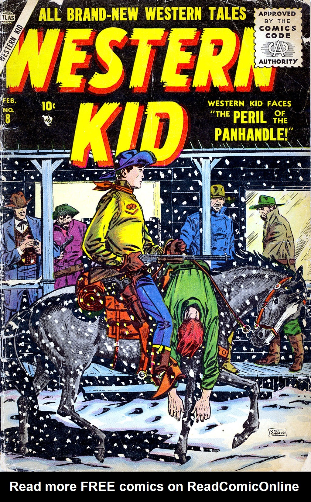 Western Kid 8 Page 1
