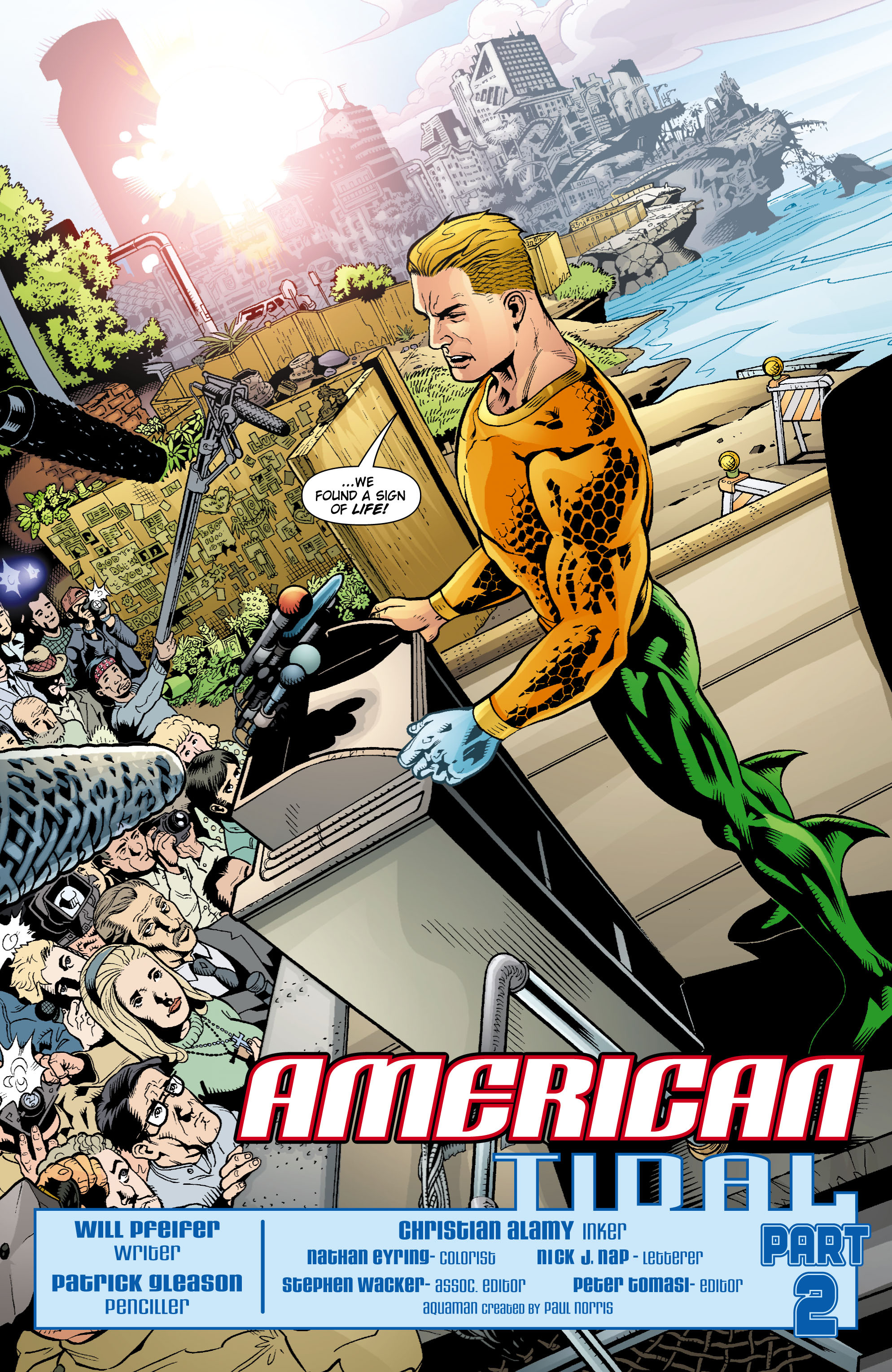 Read online Aquaman (2003) comic -  Issue #16 - 3