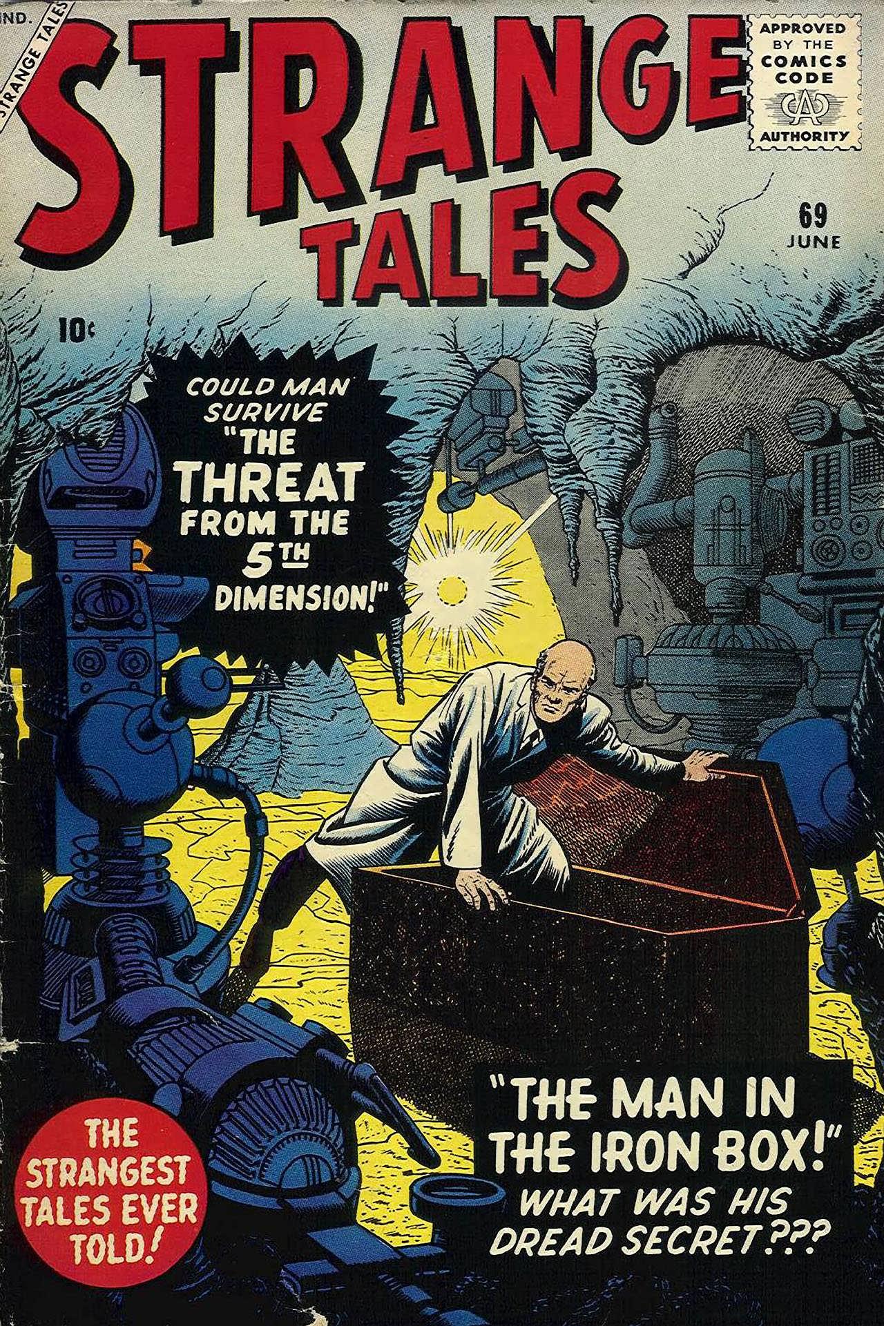 Strange Tales (1951) 69 Page 1