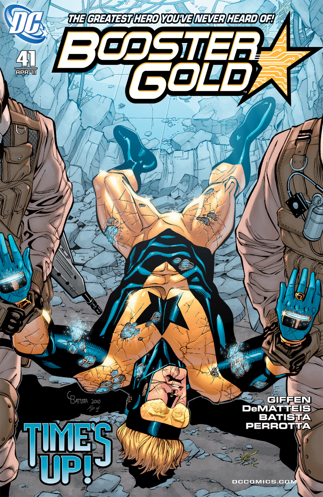 Booster Gold 2007 Issue 41