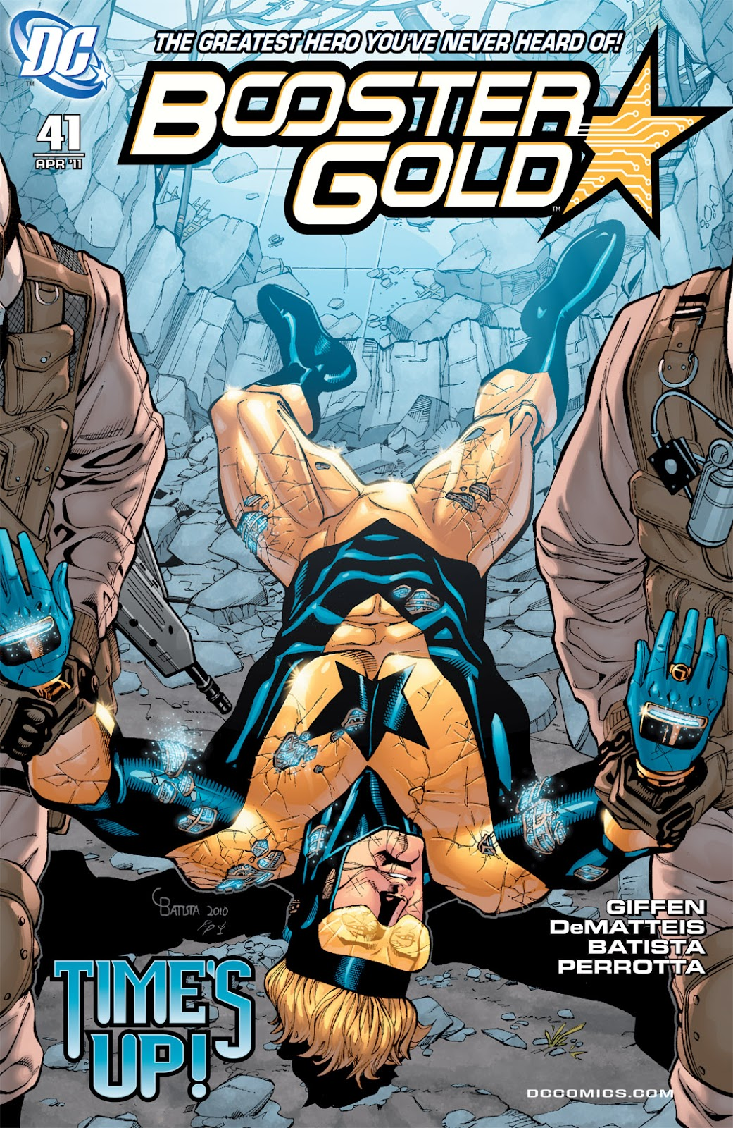 Booster Gold (2007) issue 41 - Page 1