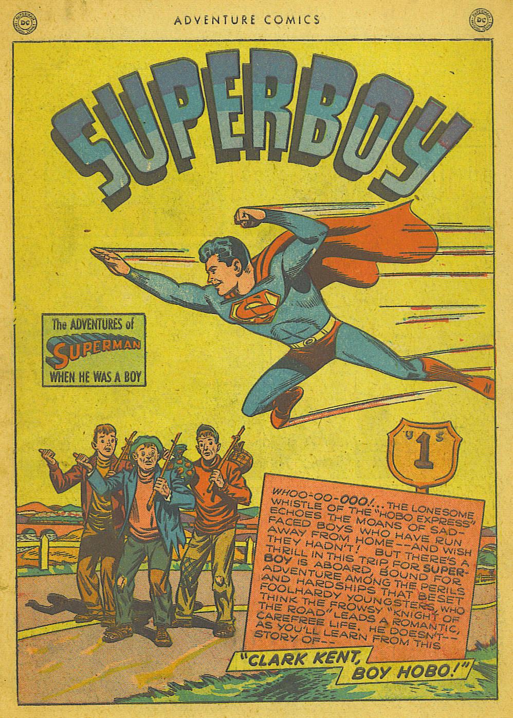 Read online Adventure Comics (1938) comic -  Issue #153 - 2