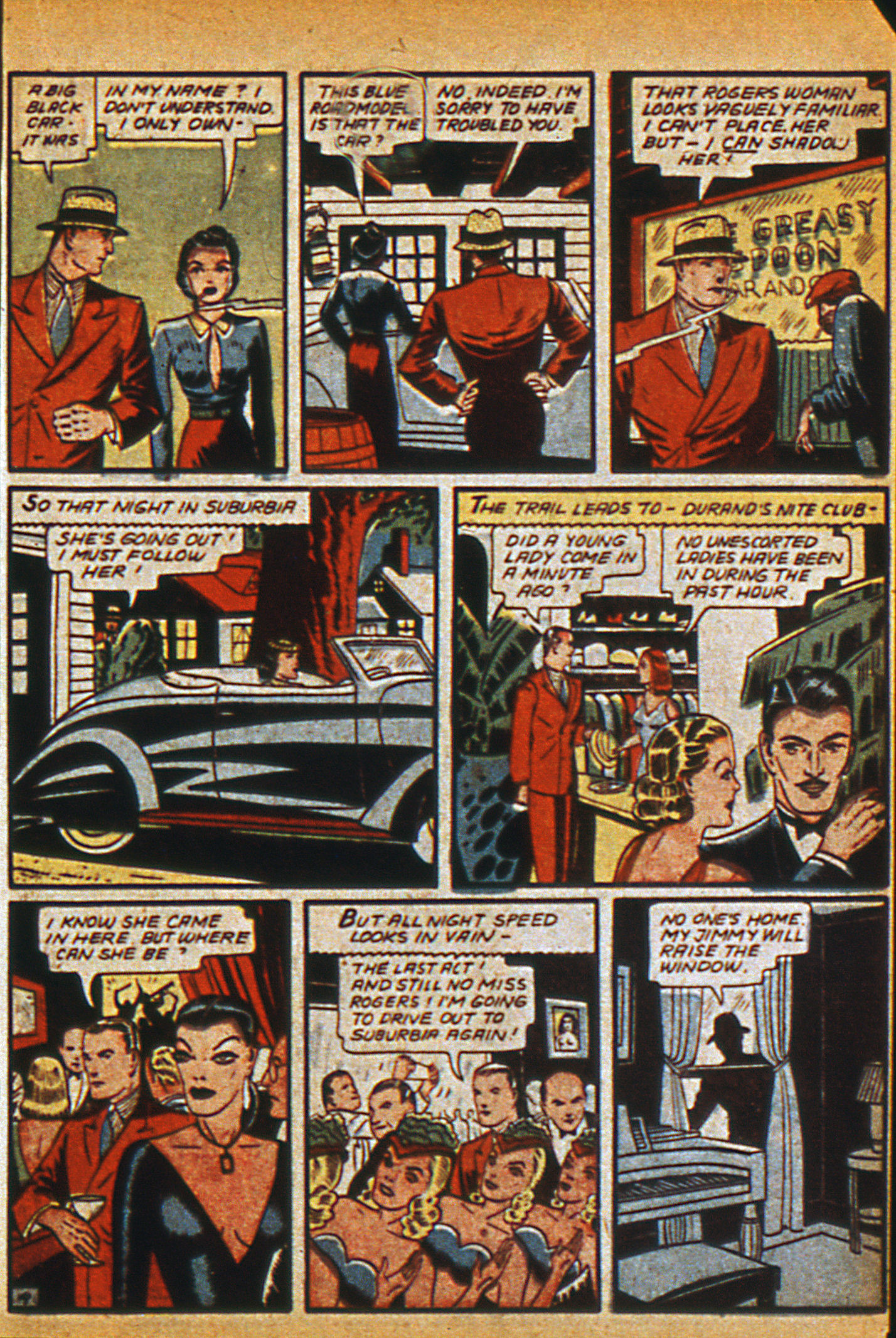 Read online Detective Comics (1937) comic -  Issue #36 - 39