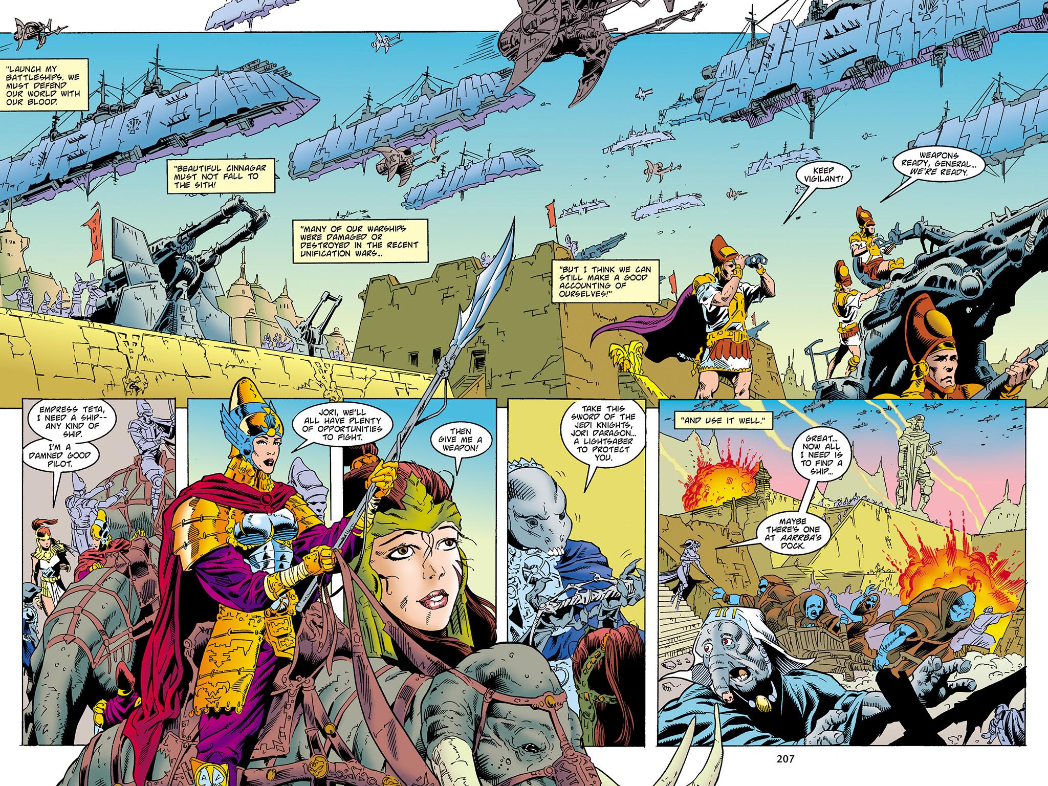 Read online Star Wars Omnibus comic -  Issue # Vol. 4 - 199