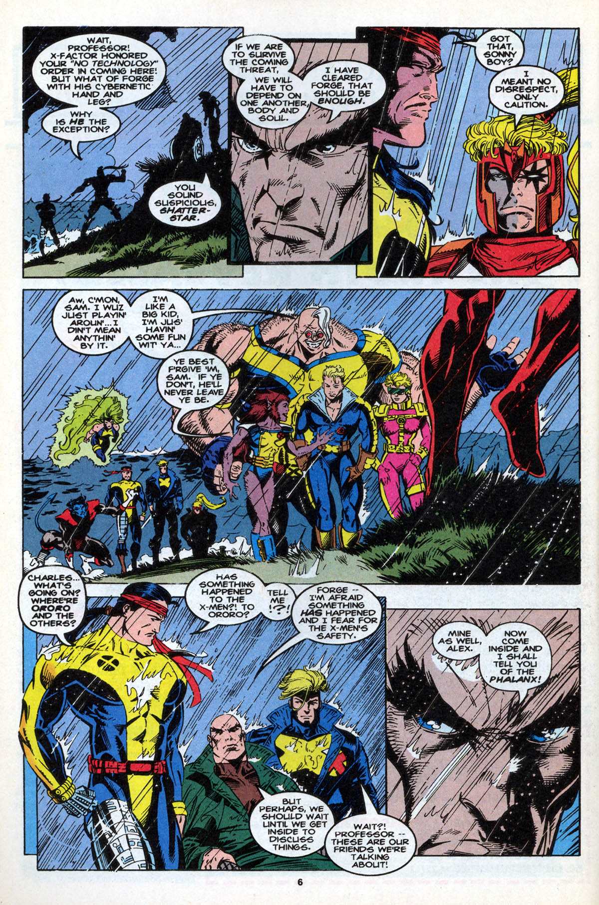Read online X-Factor (1986) comic -  Issue #106 - 9