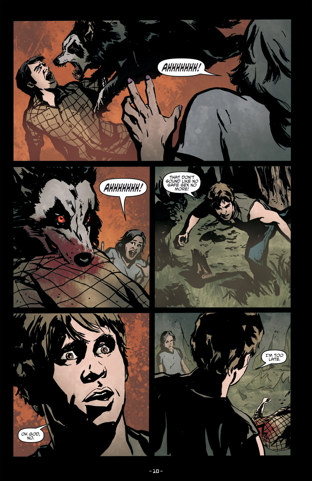 Read online True Blood (2012) comic -  Issue #6 - 12