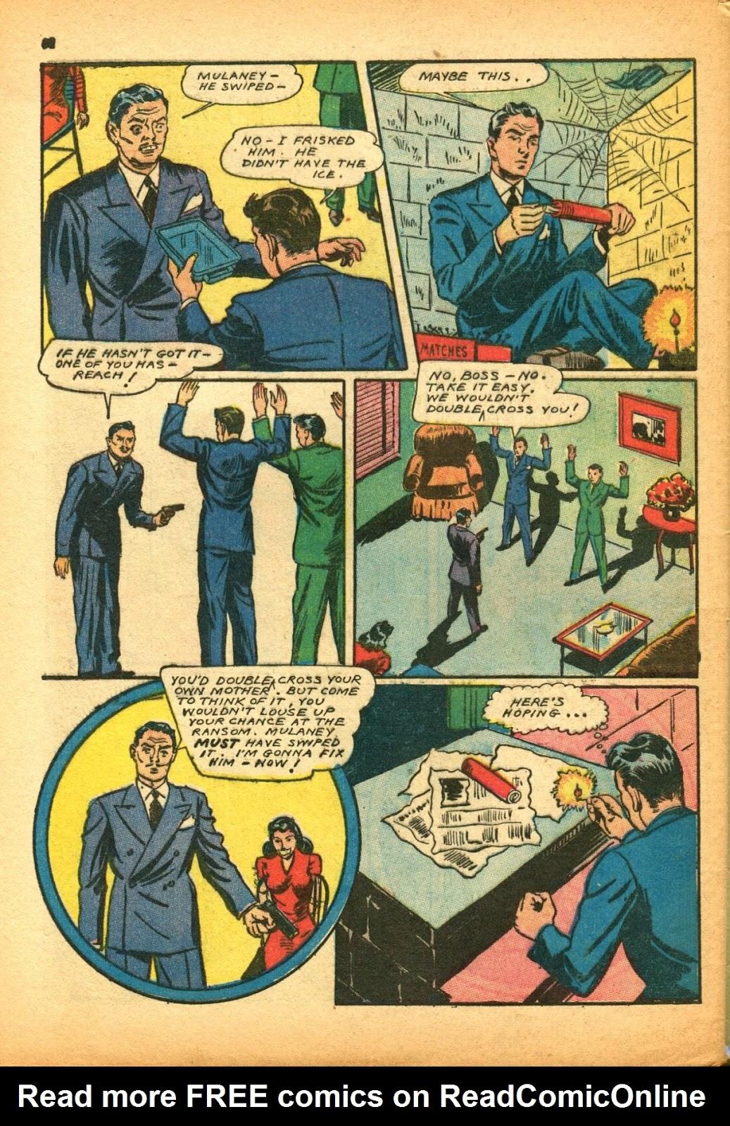 Read online Super-Magician Comics comic -  Issue #12 - 62