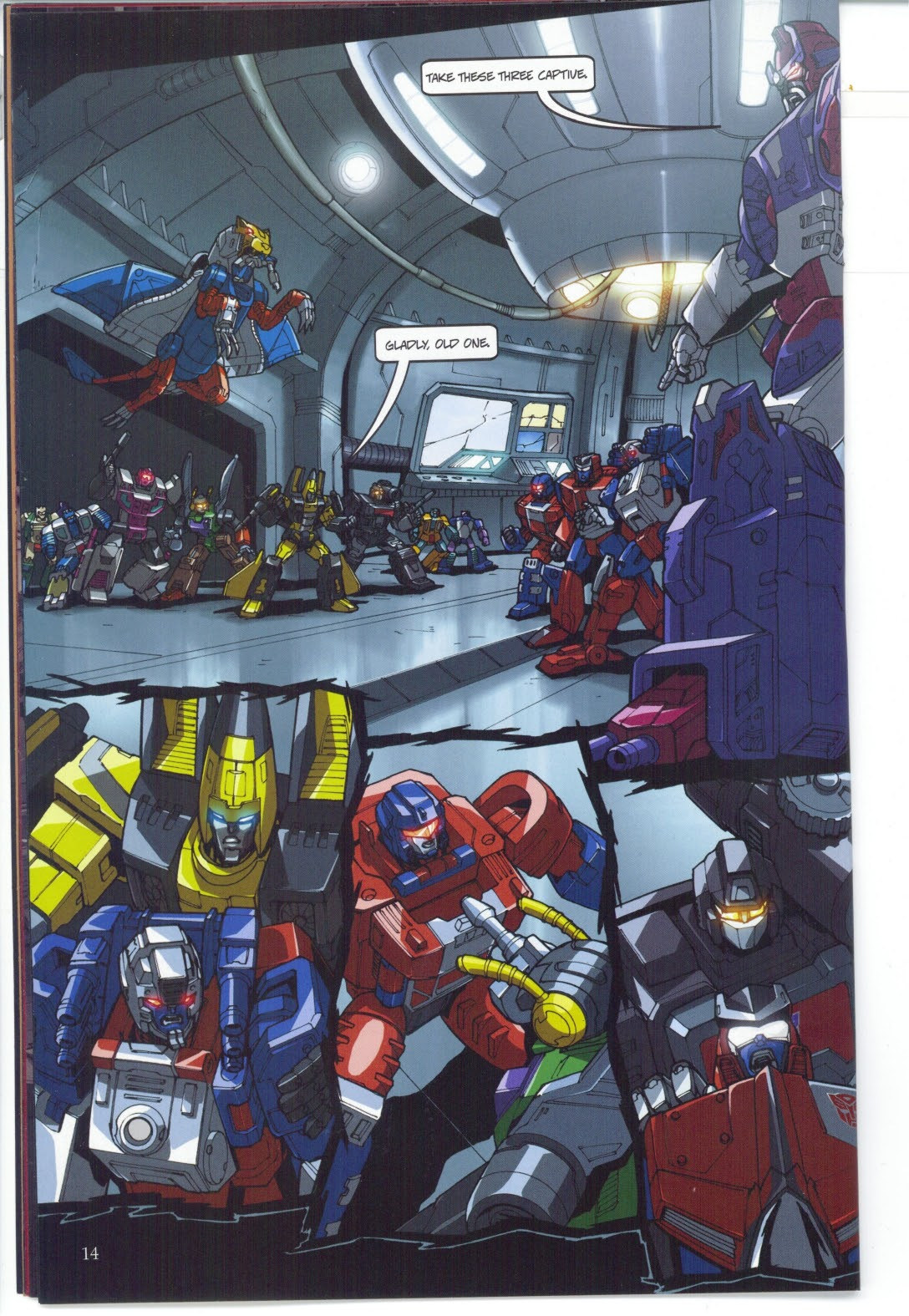 Read online Transformers: Collectors' Club comic -  Issue #25 - 14