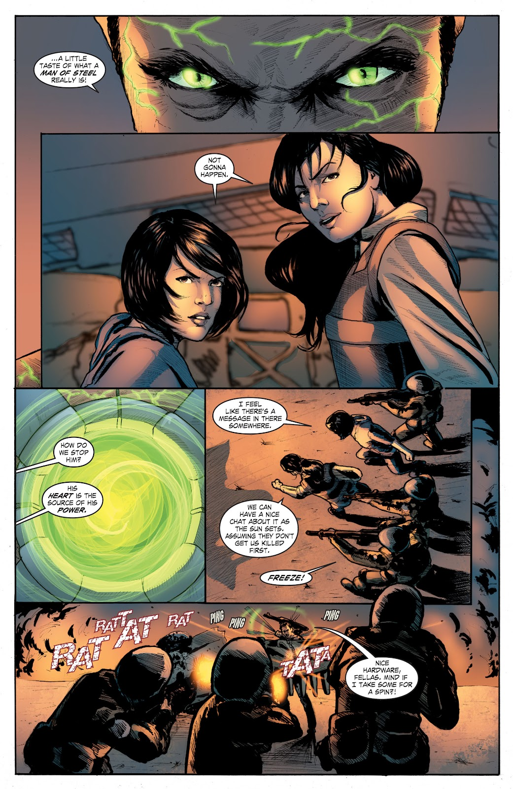 Read online Smallville Season 11 [II] comic -  Issue # TPB 4 - 136