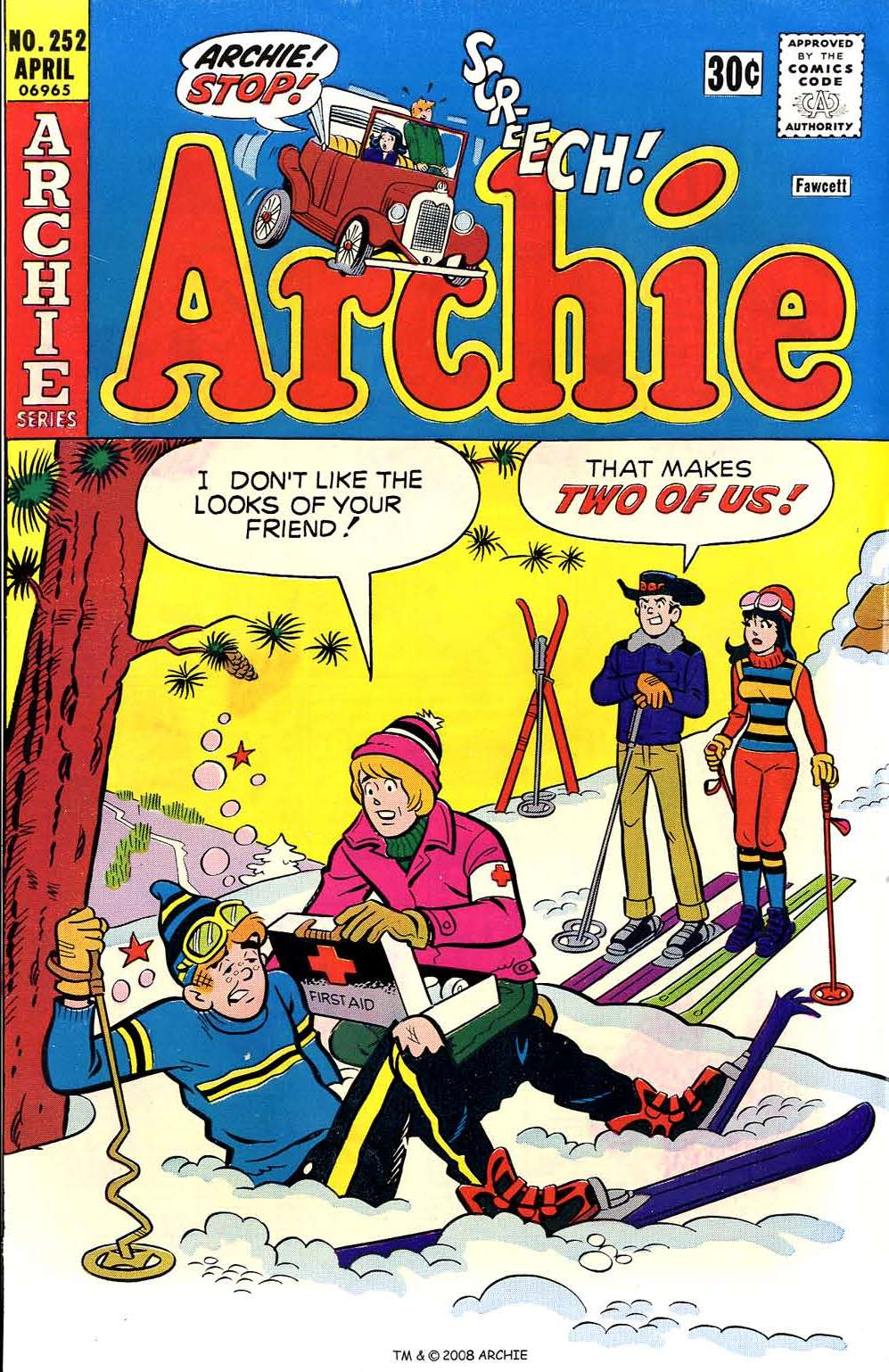 Read online Archie (1960) comic -  Issue #252 - 1
