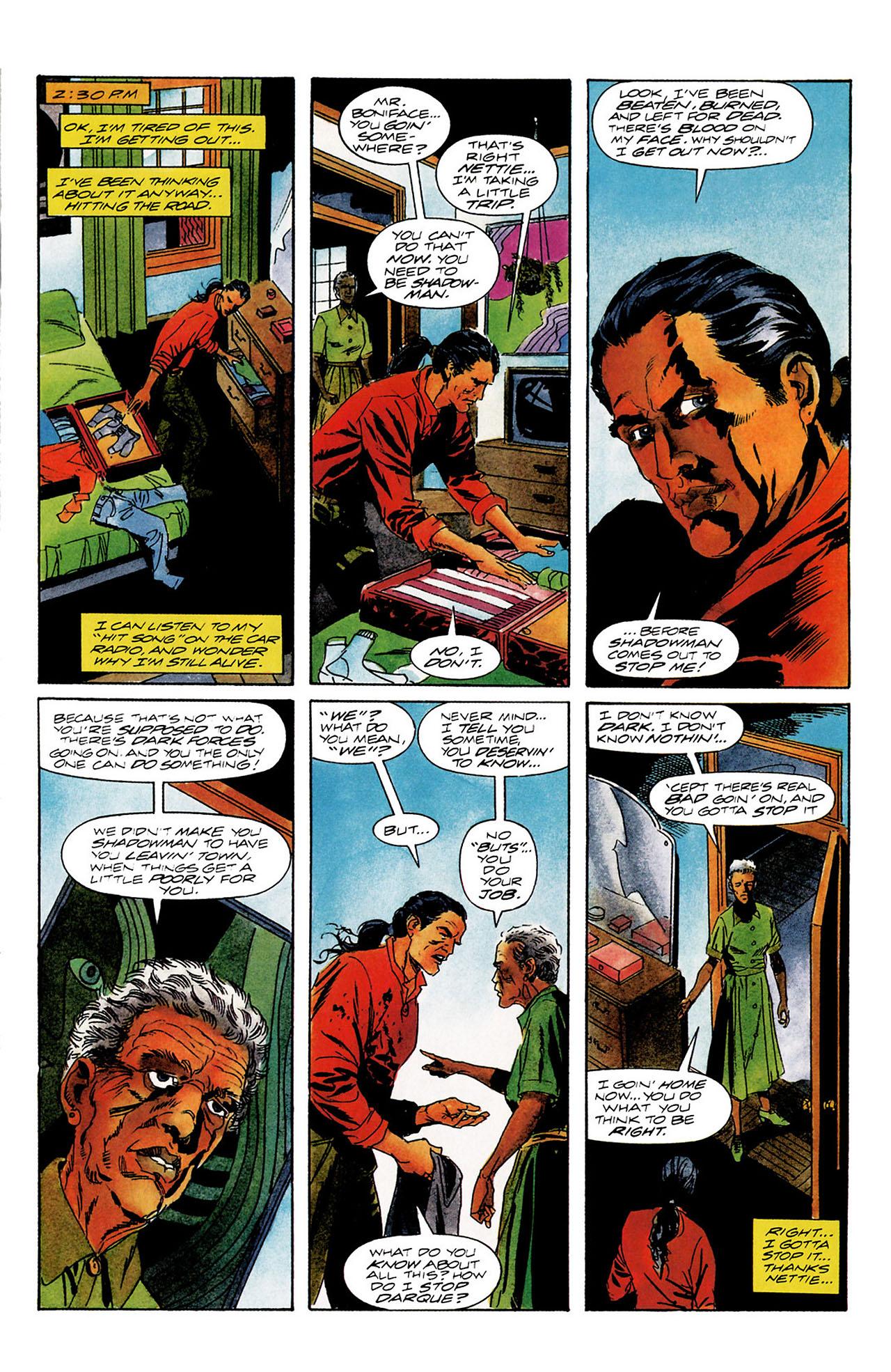 Read online Shadowman (1992) comic -  Issue #12 - 9
