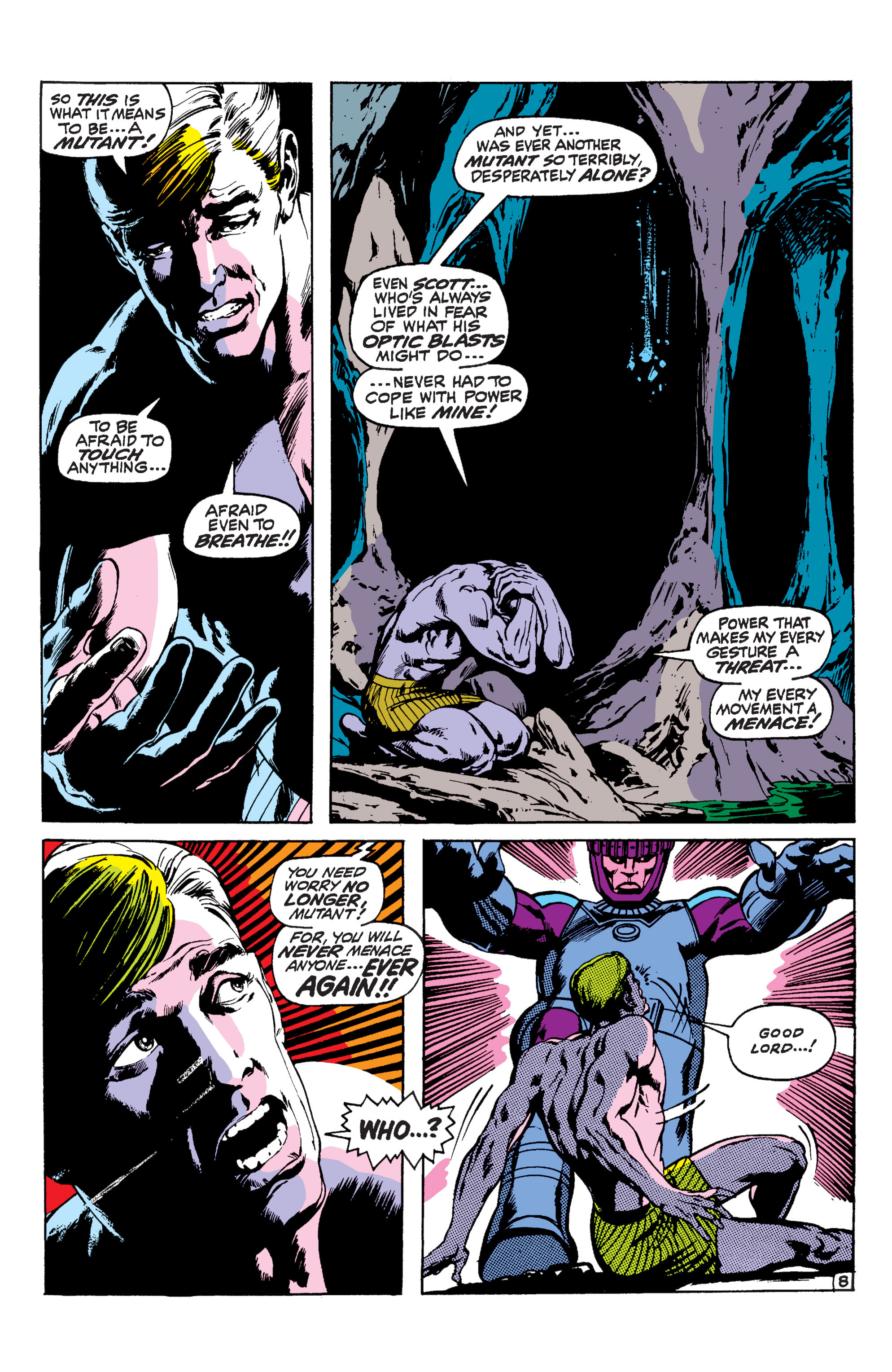 Uncanny X-Men (1963) 57 Page 8