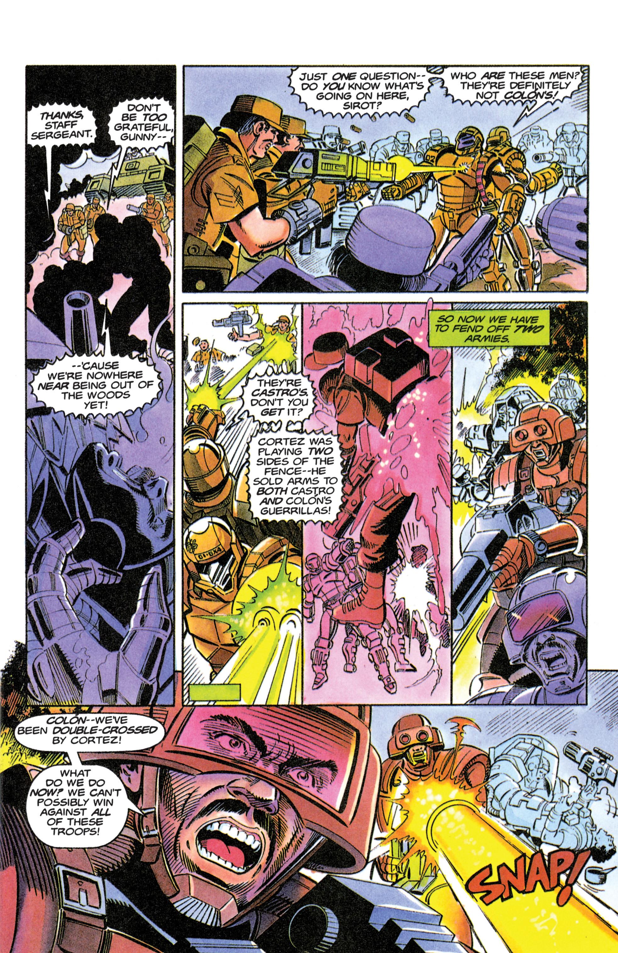Read online Armorines comic -  Issue #11 - 6