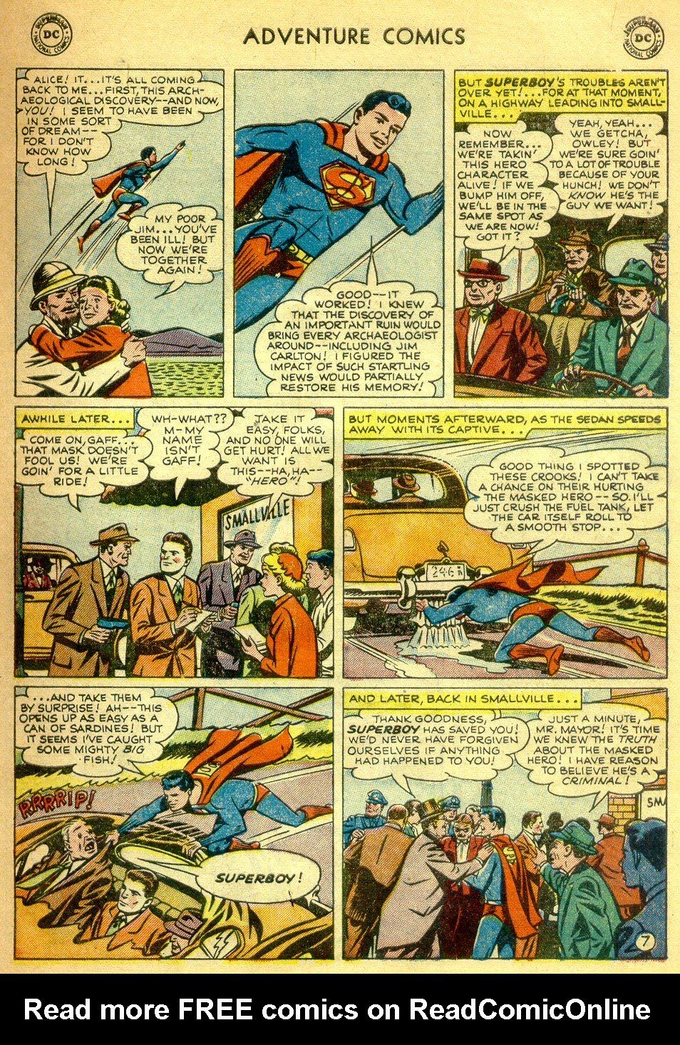 Read online Adventure Comics (1938) comic -  Issue #181 - 8