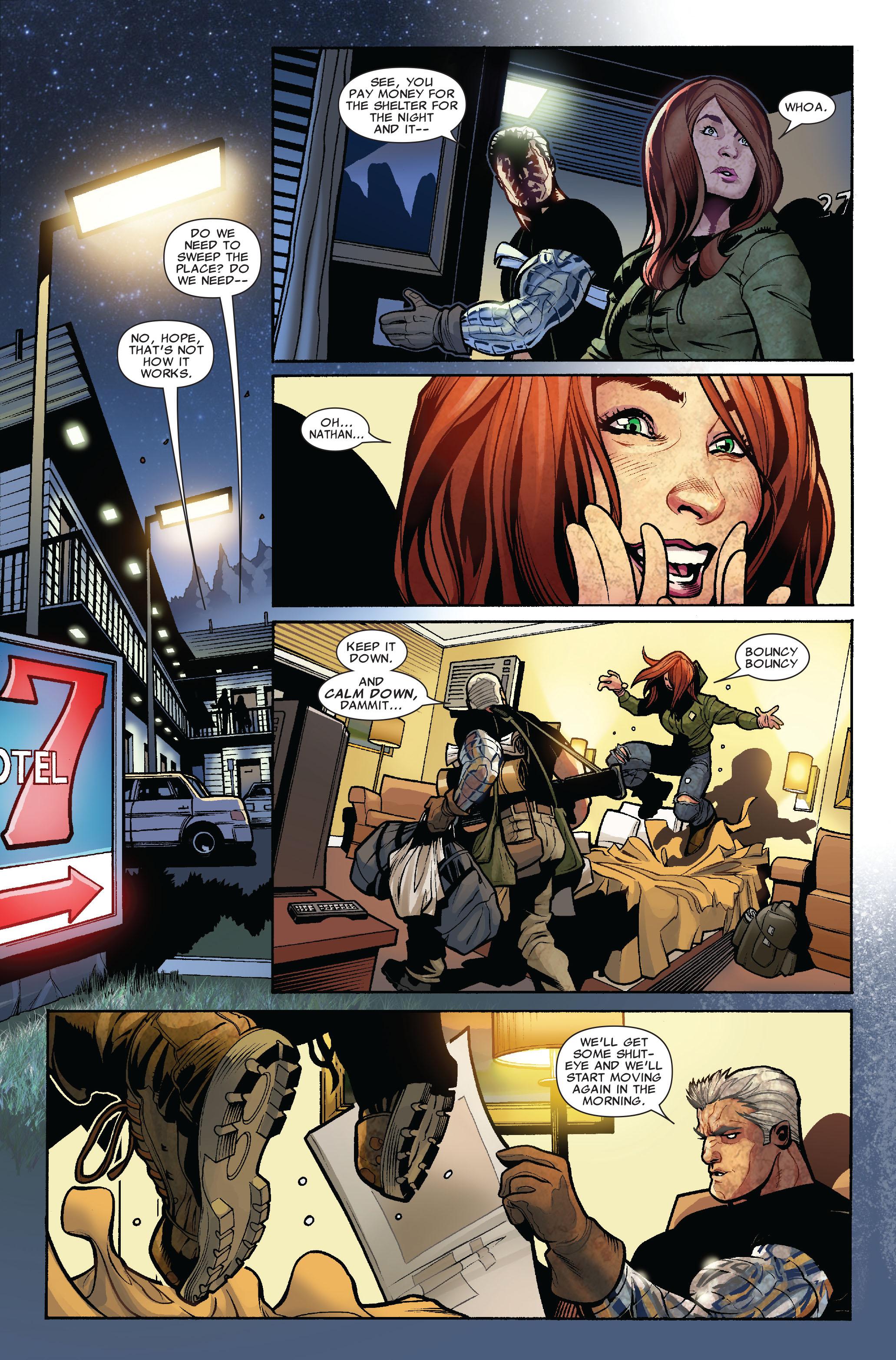 Read online Uncanny X-Men (1963) comic -  Issue #523 - 11