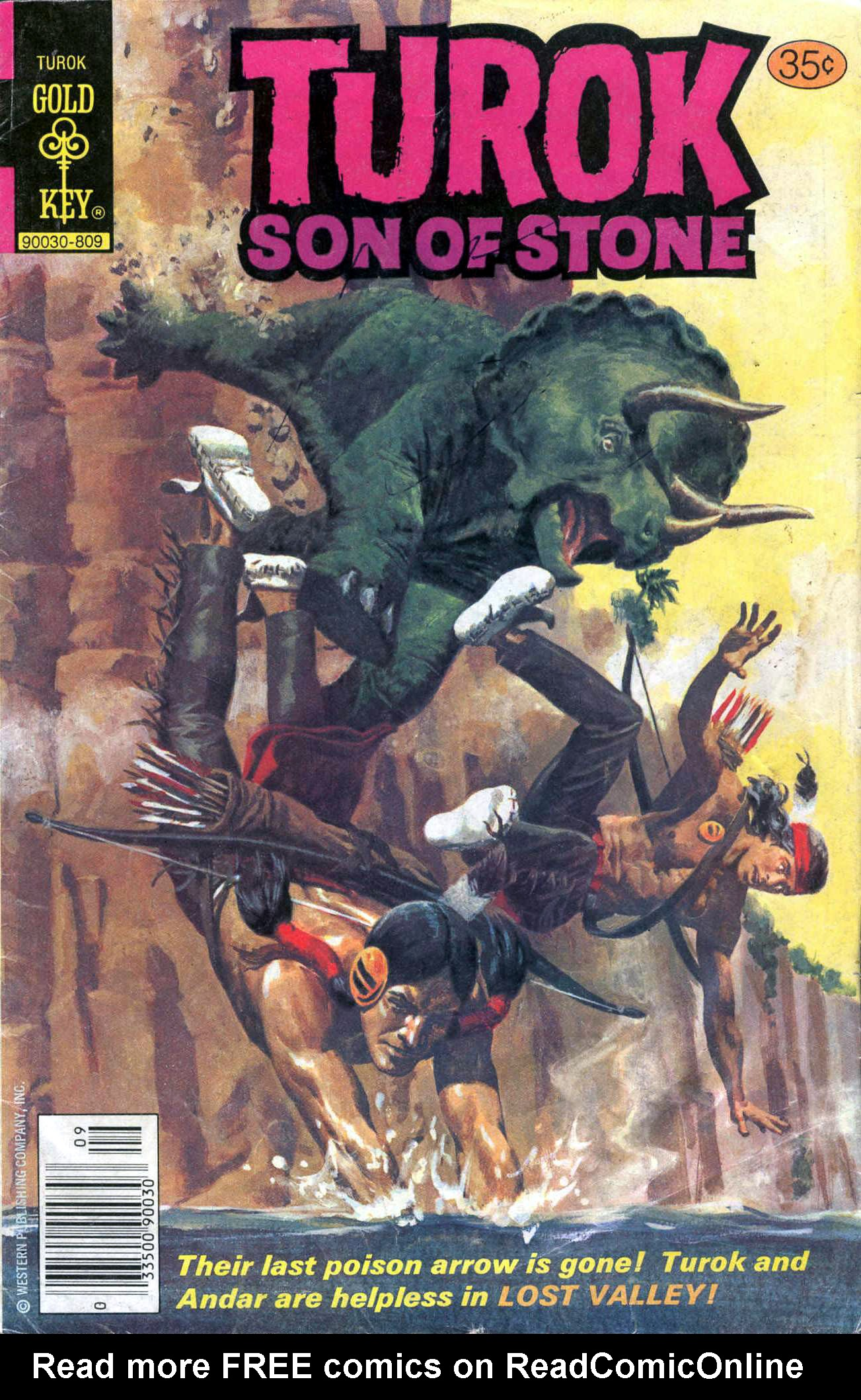 Read online Turok, Son of Stone comic -  Issue #117 - 1