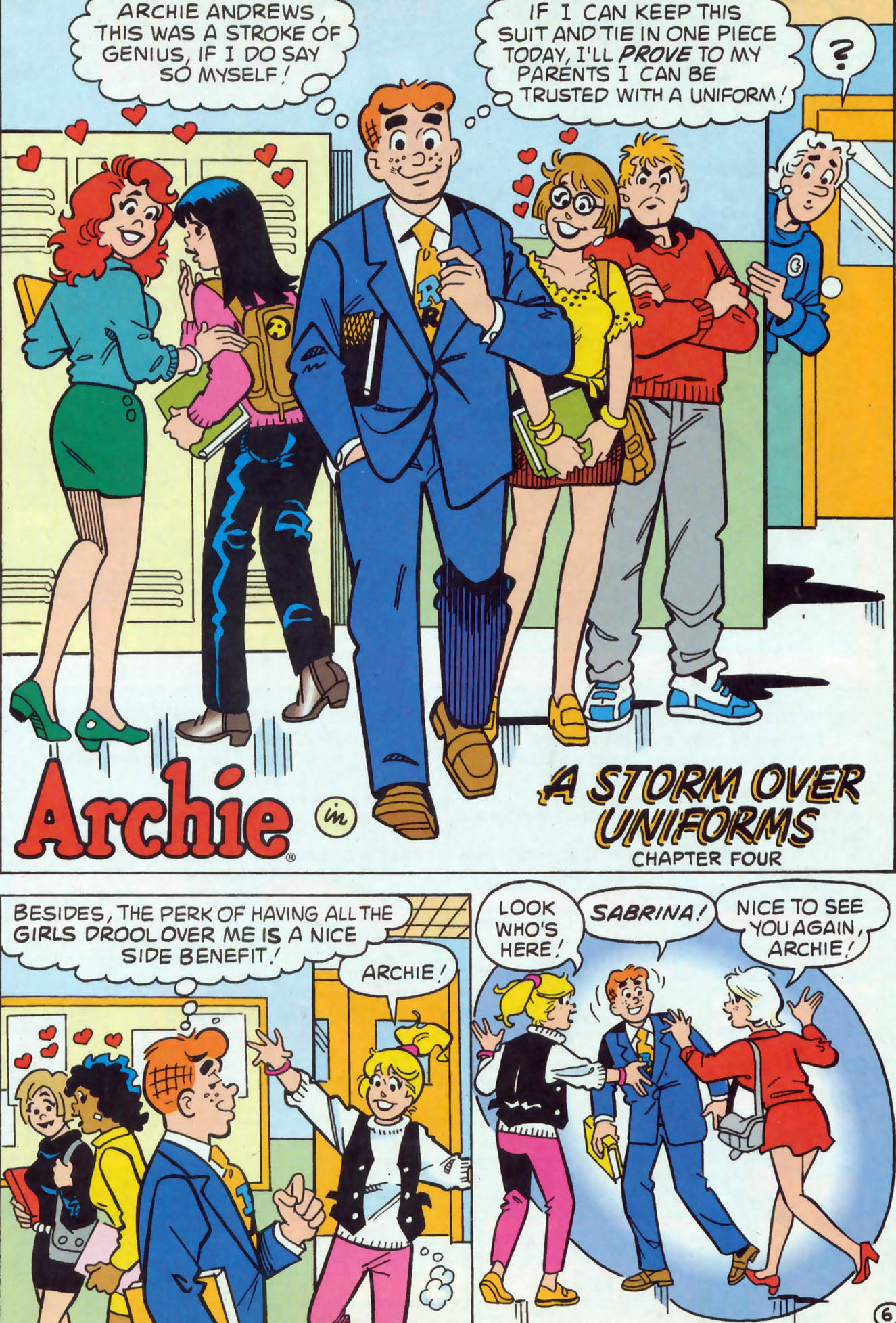 Read online Archie (1960) comic -  Issue #467 - 7