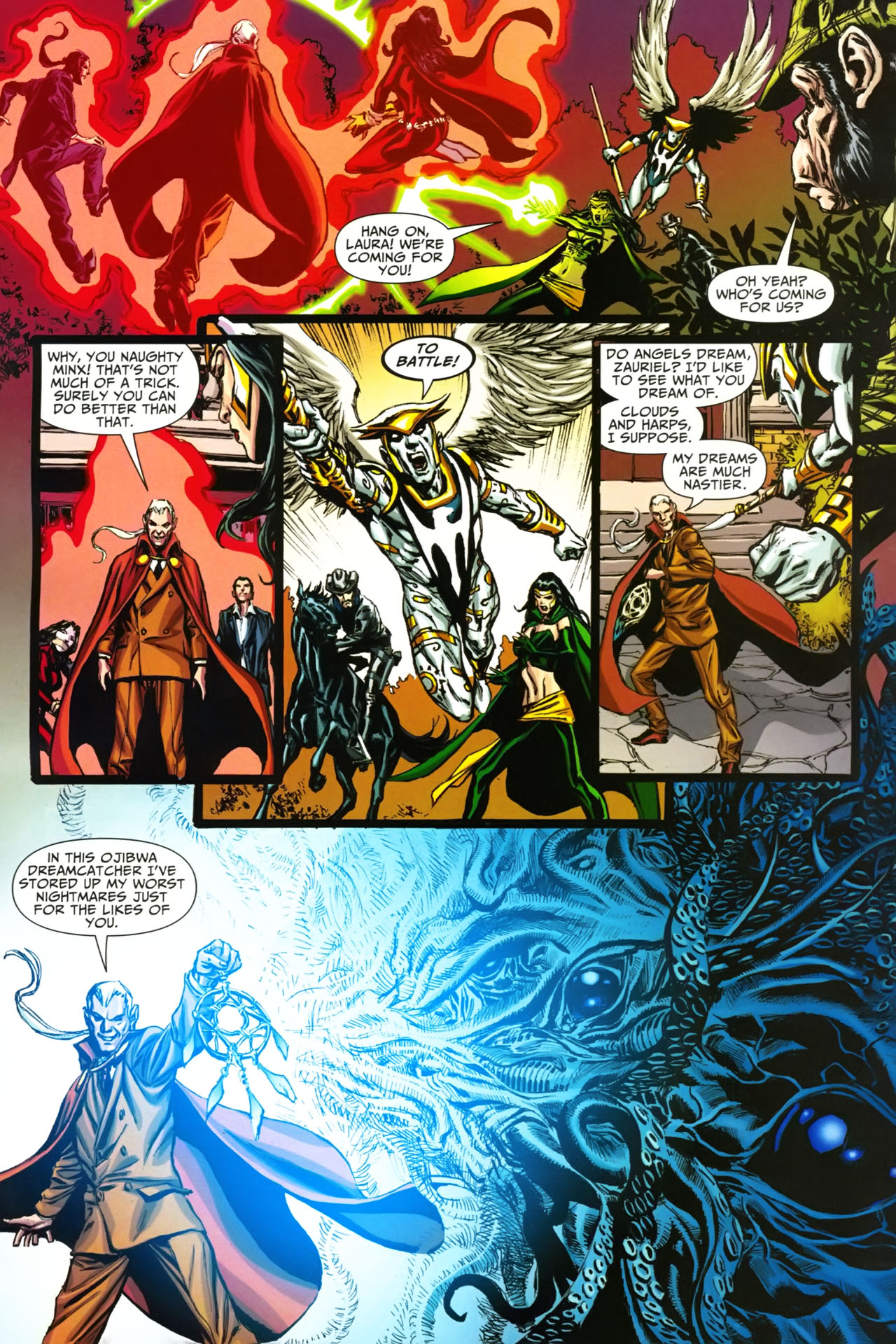 Read online Shadowpact comic -  Issue #19 - 9