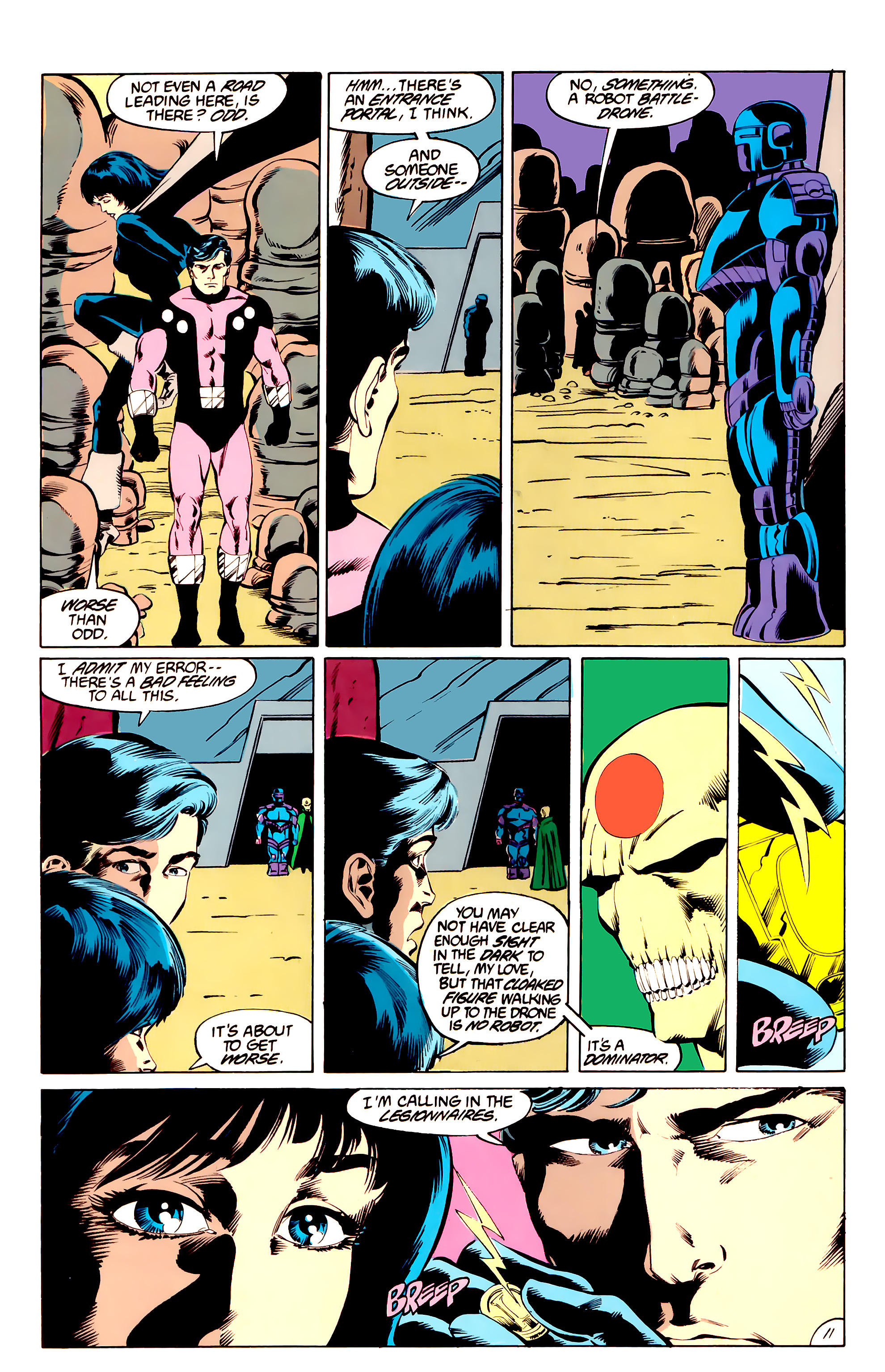 Legion of Super-Heroes (1984) _Annual_3 Page 11