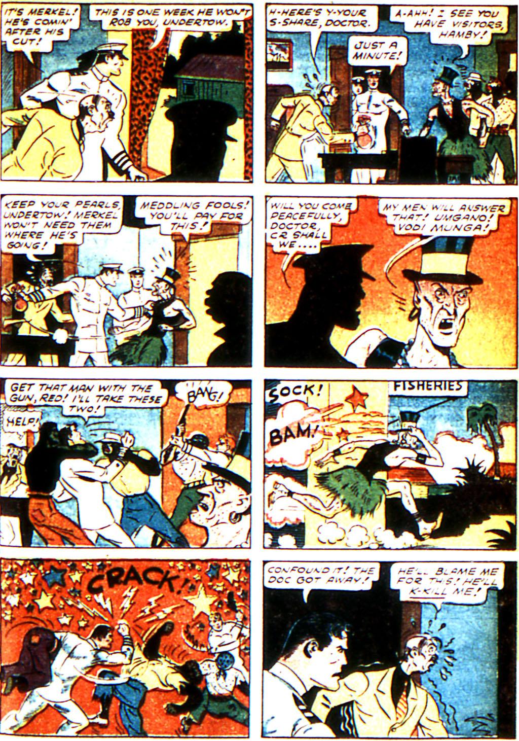 Read online Adventure Comics (1938) comic -  Issue #43 - 45
