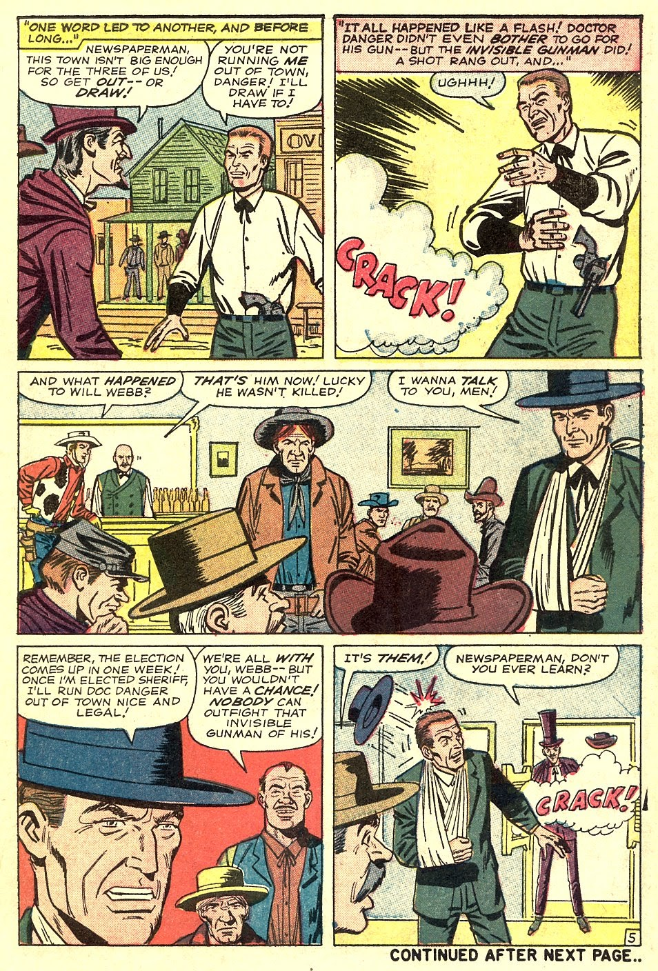 Kid Colt Outlaw issue 116 - Page 7