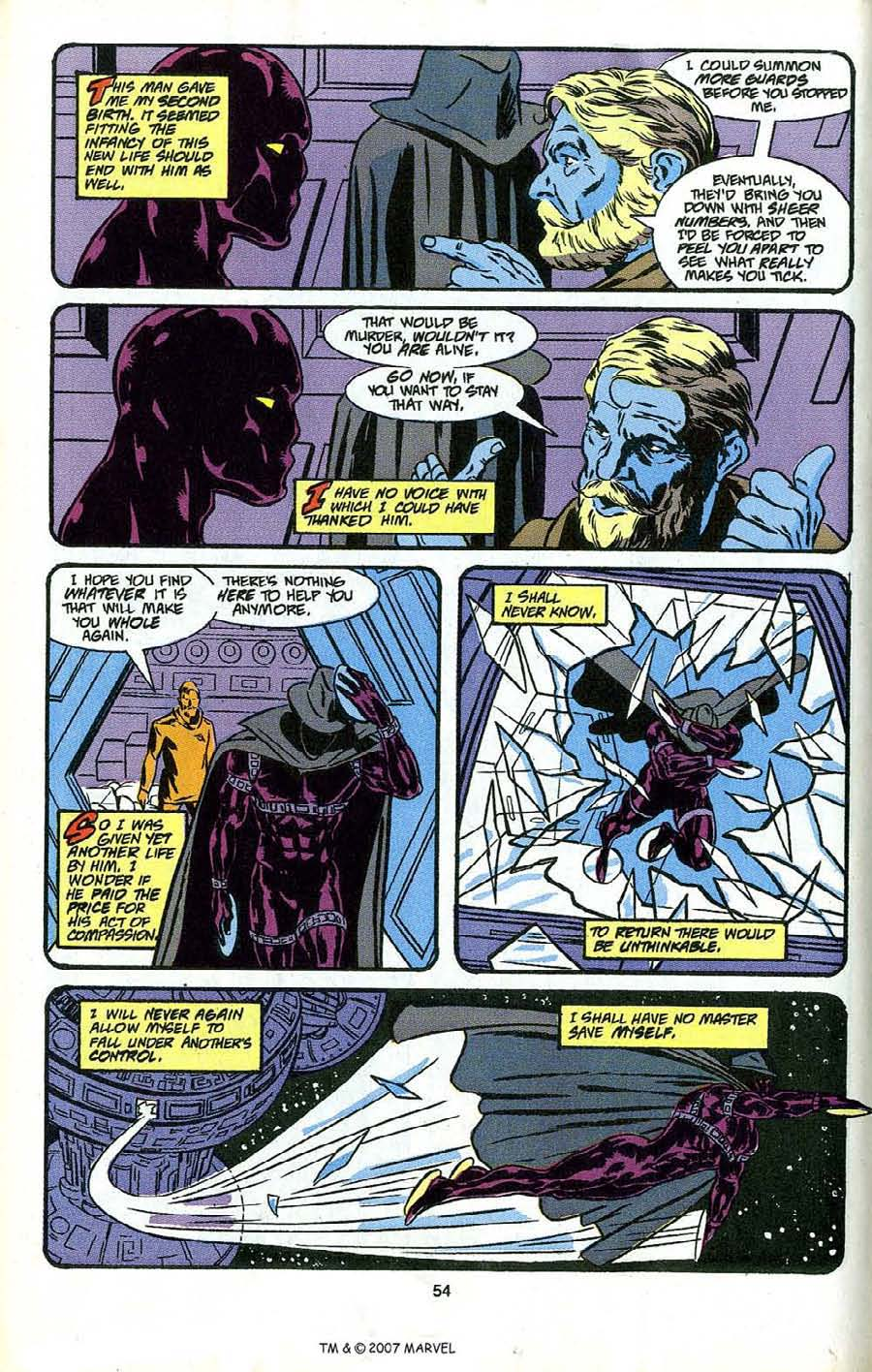 Read online Silver Surfer (1987) comic -  Issue # _Annual 4 - 56