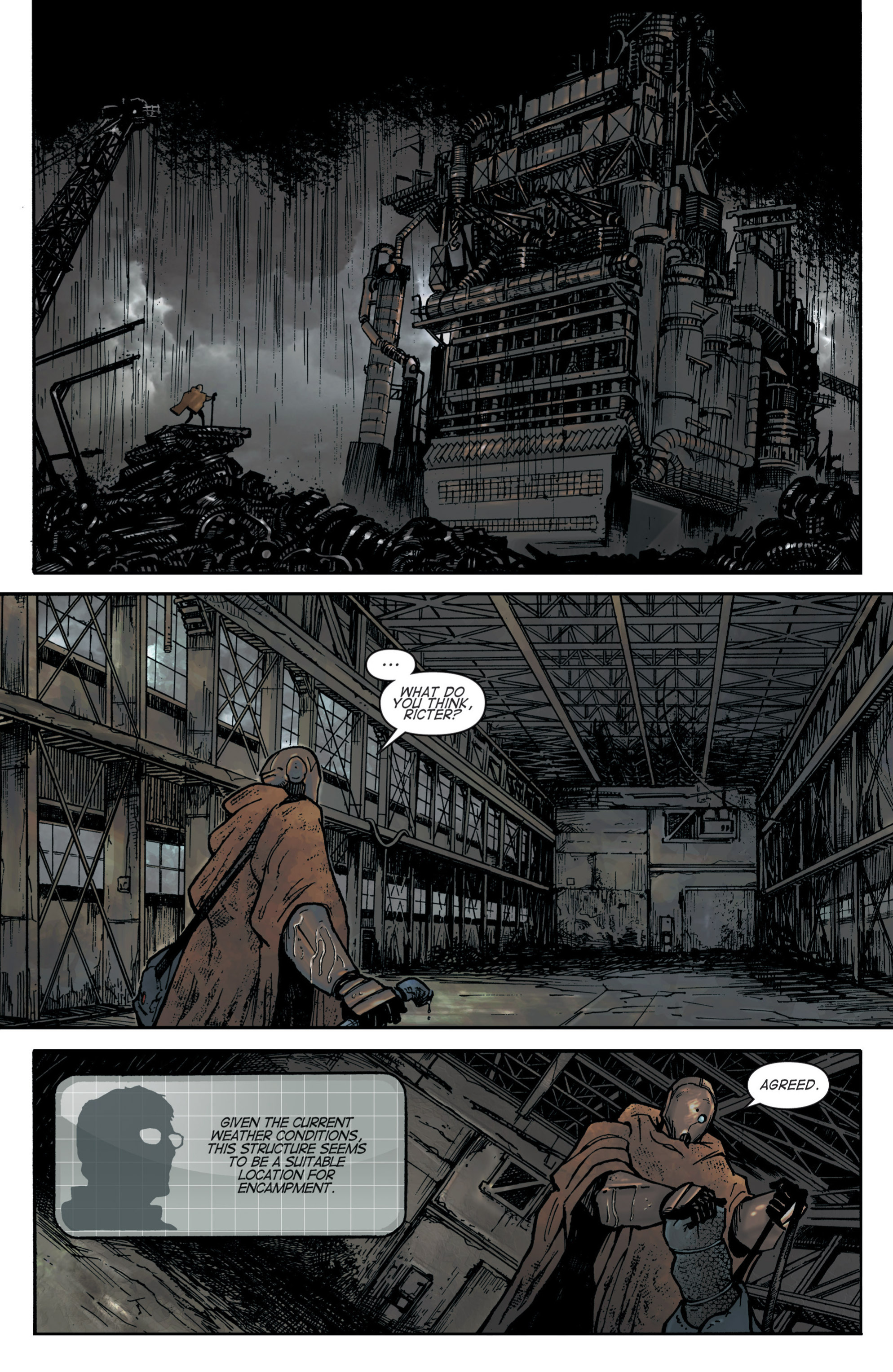 Read online Planetoid comic -  Issue # TPB - 16