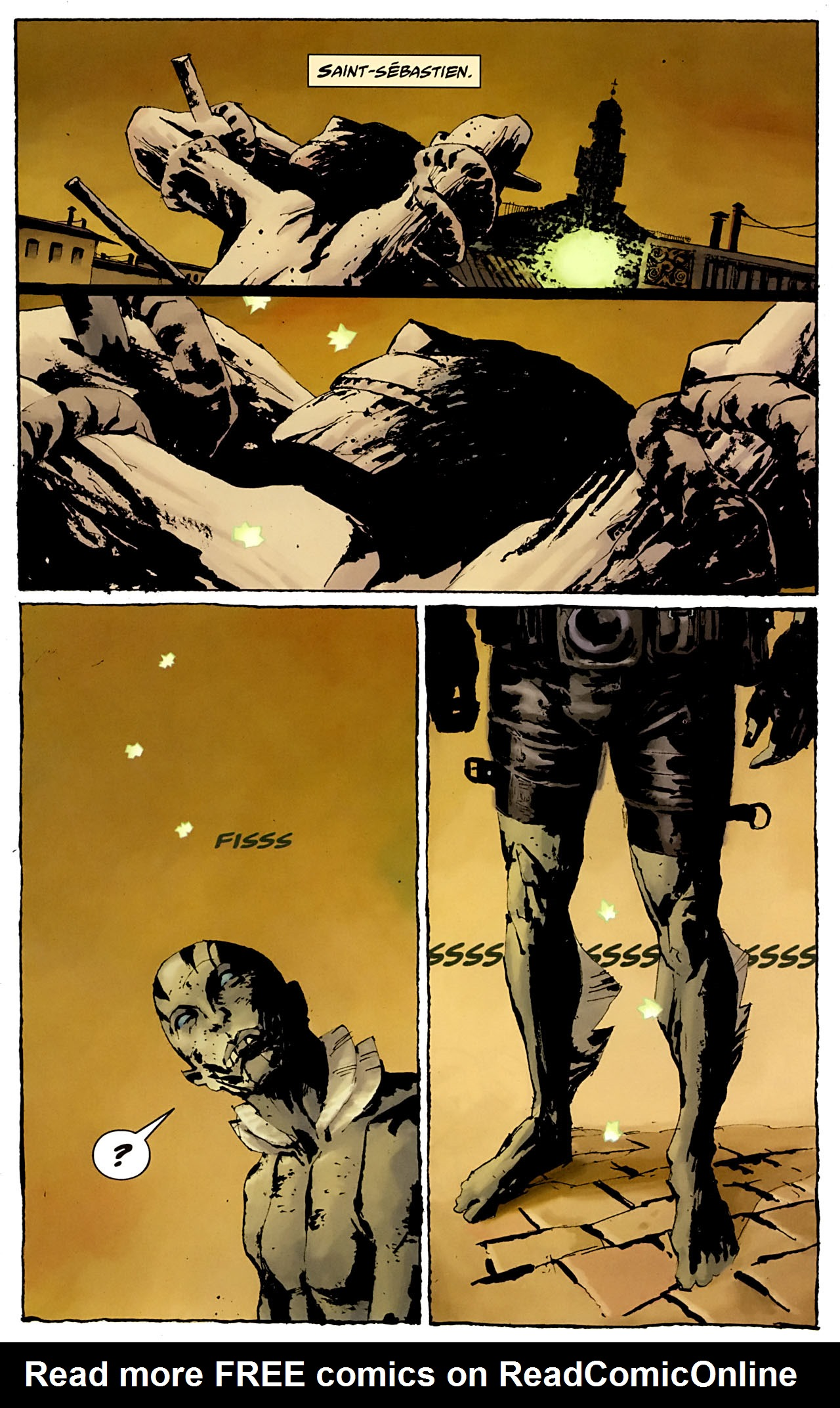 Read online Abe Sapien: The Drowning comic -  Issue #3 - 3