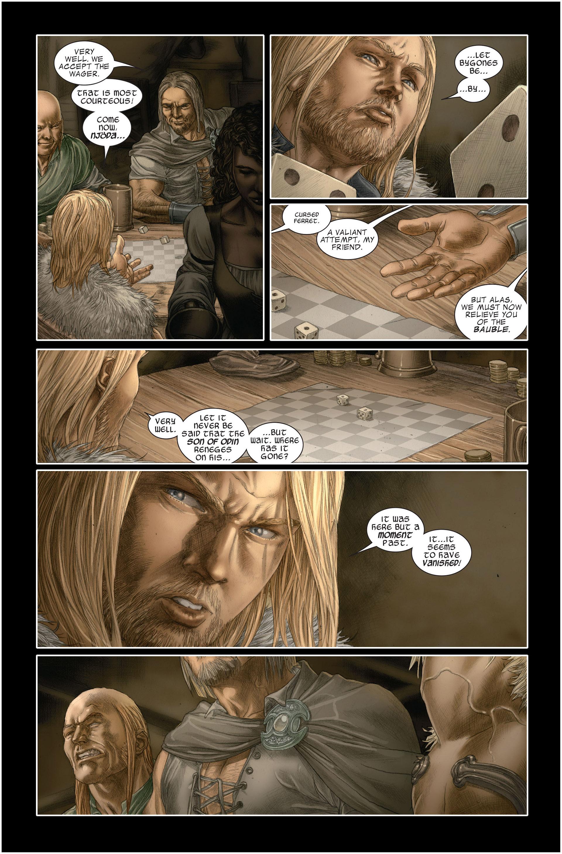 Read online Astonishing Thor comic -  Issue #1 - 12