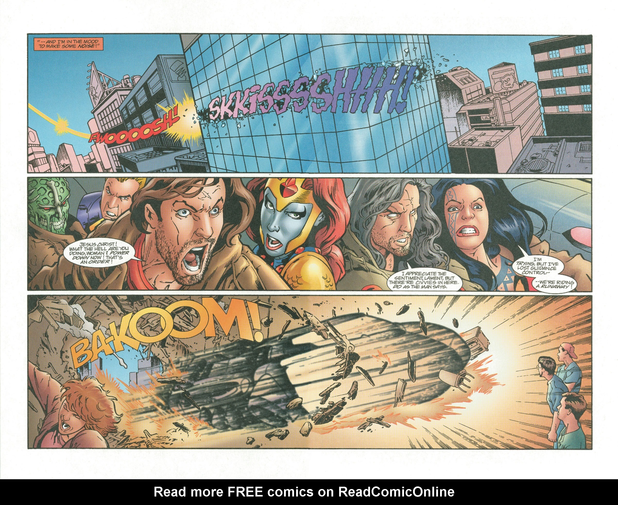 Read online UltraForce (1995) comic -  Issue #7 - 19