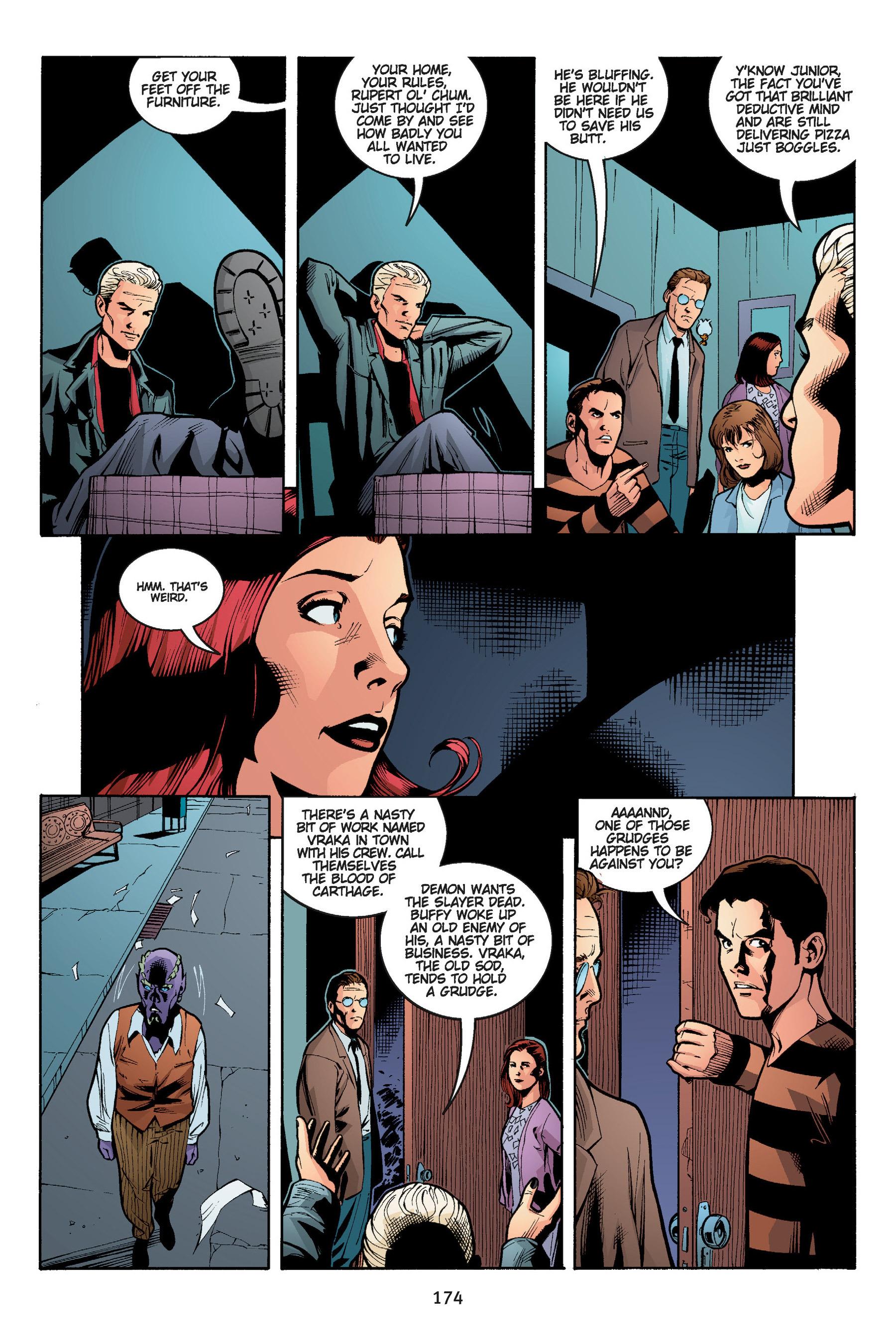 Read online Buffy the Vampire Slayer: Omnibus comic -  Issue # TPB 5 - 174