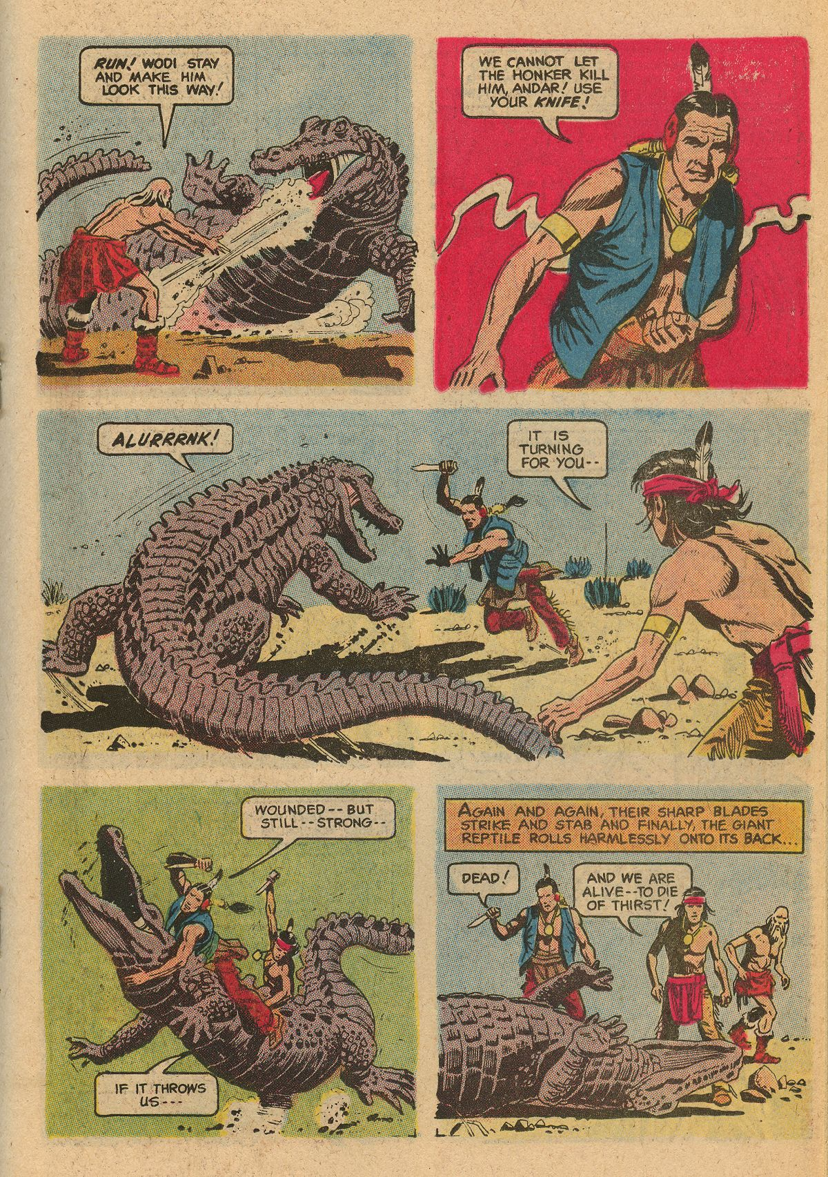 Read online Turok, Son of Stone comic -  Issue #115 - 27