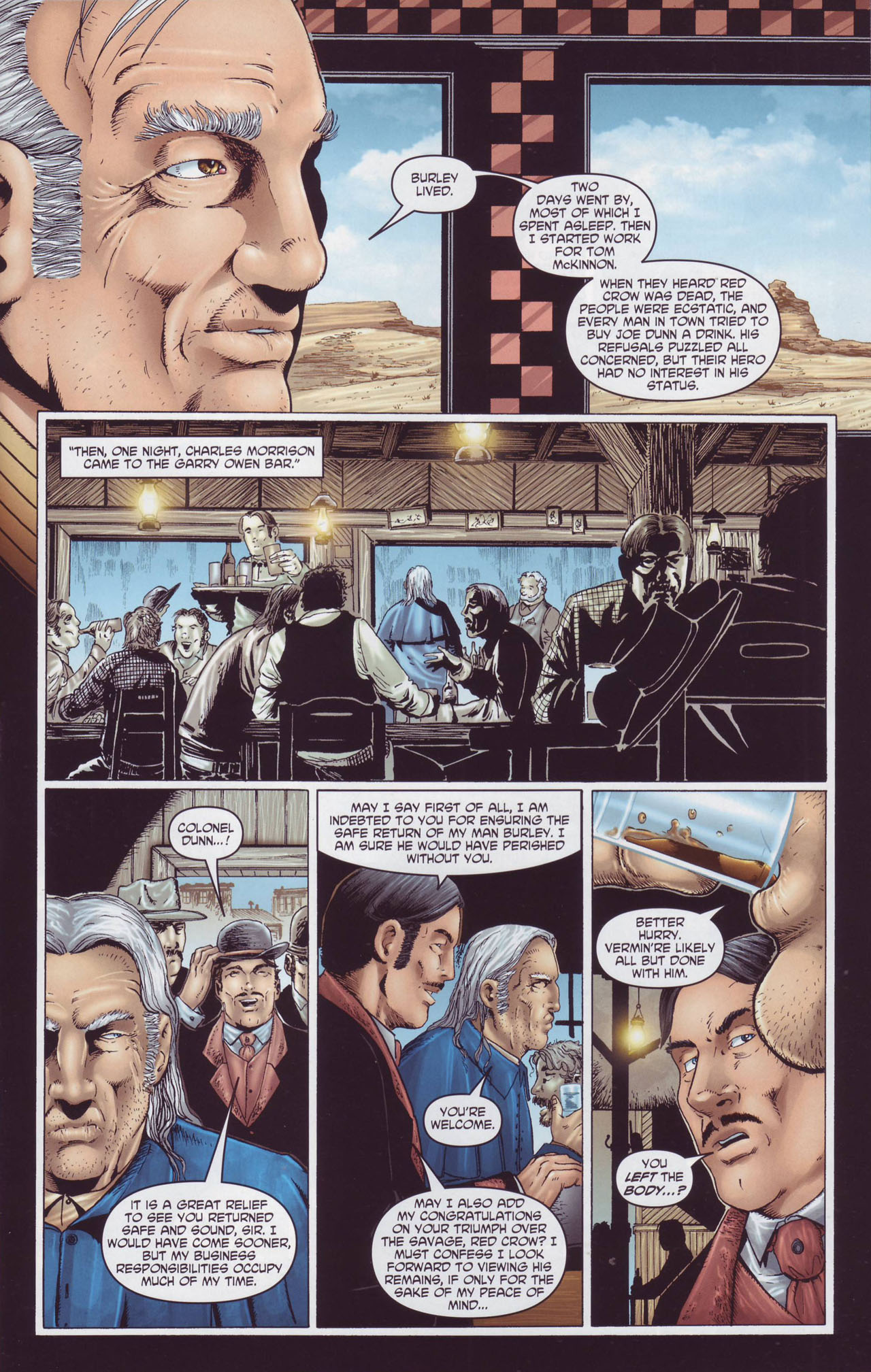 Read online Garth Ennis' Streets of Glory comic -  Issue #4 - 21