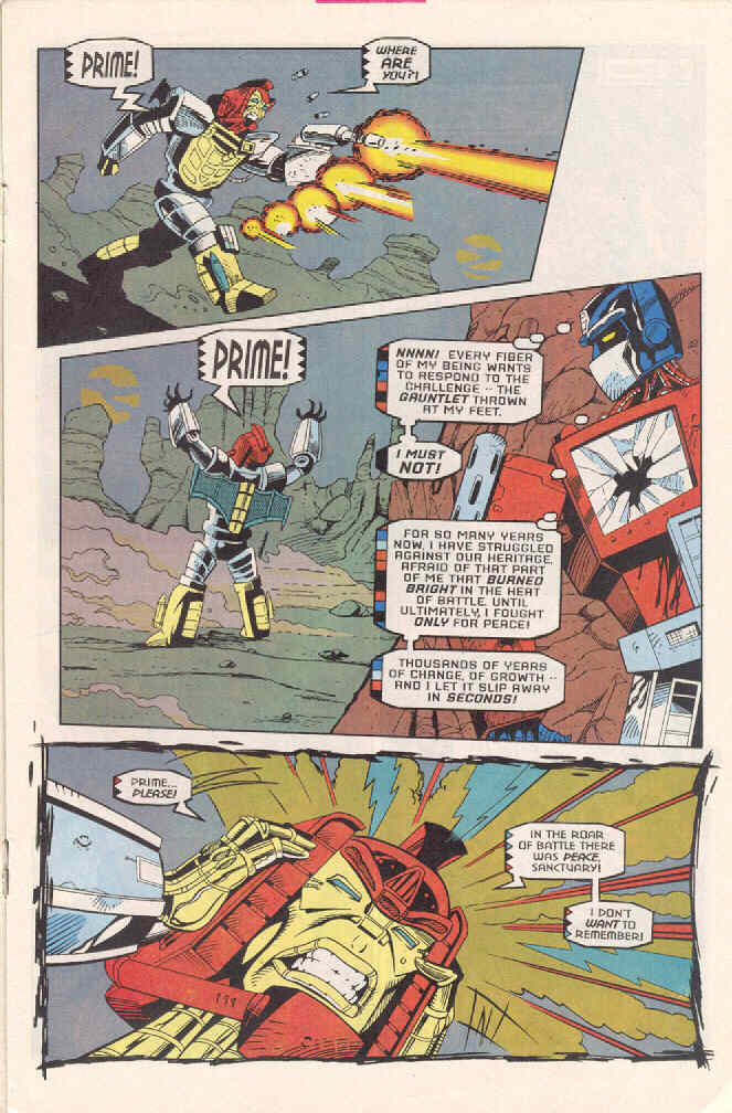 Read online Transformers: Generation 2 comic -  Issue #3 - 13