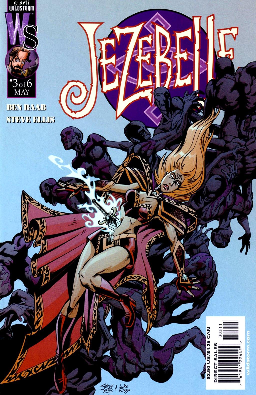 Read online Jezebelle comic -  Issue #3 - 1