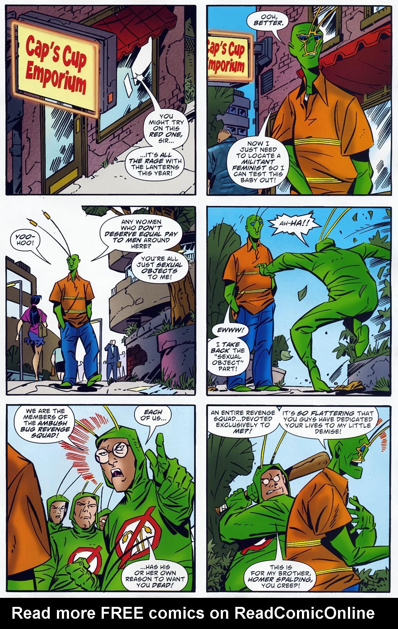 Read online Ambush Bug: Year None comic -  Issue #4 - 21