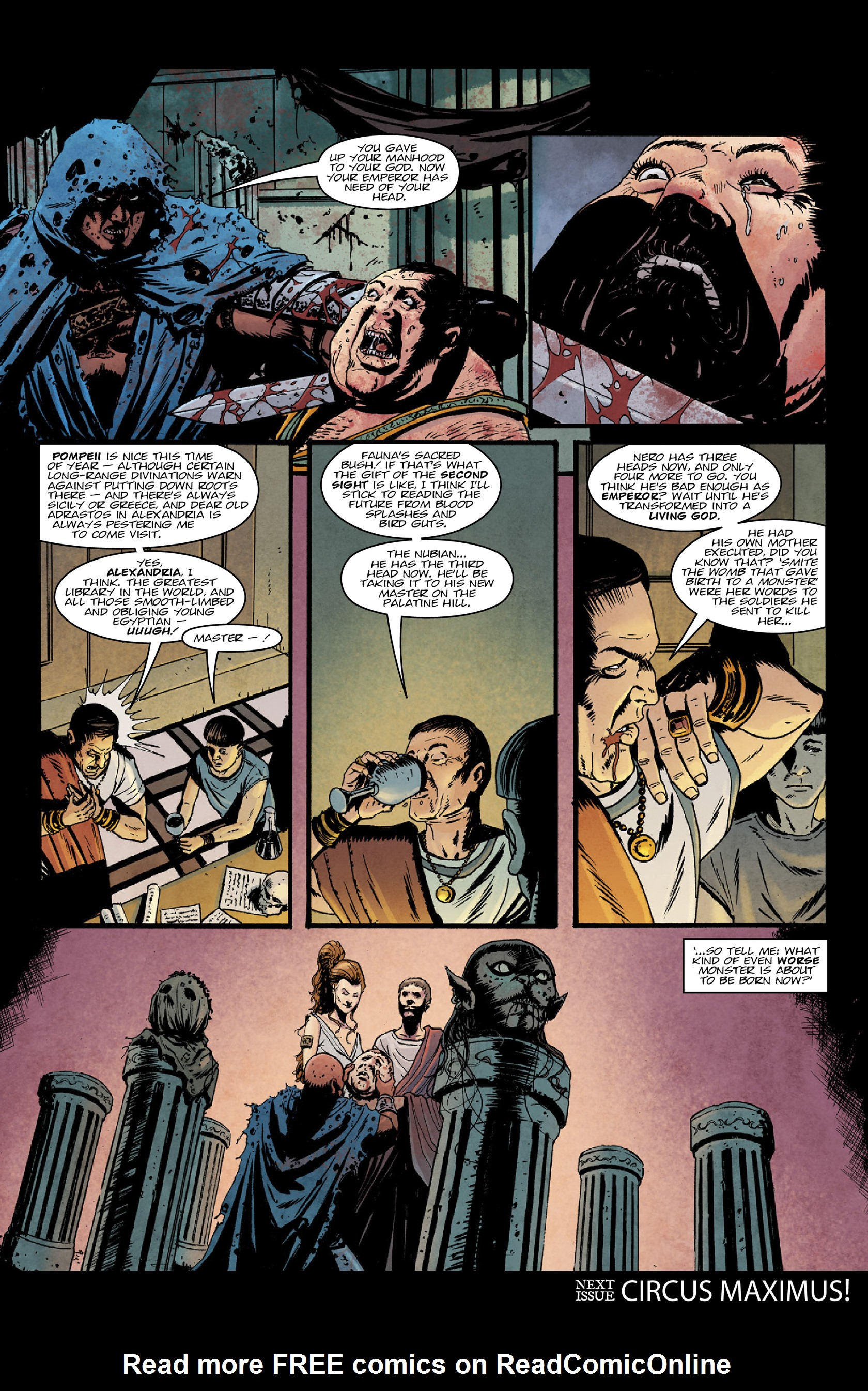 Read online Aquila comic -  Issue #3 - 34