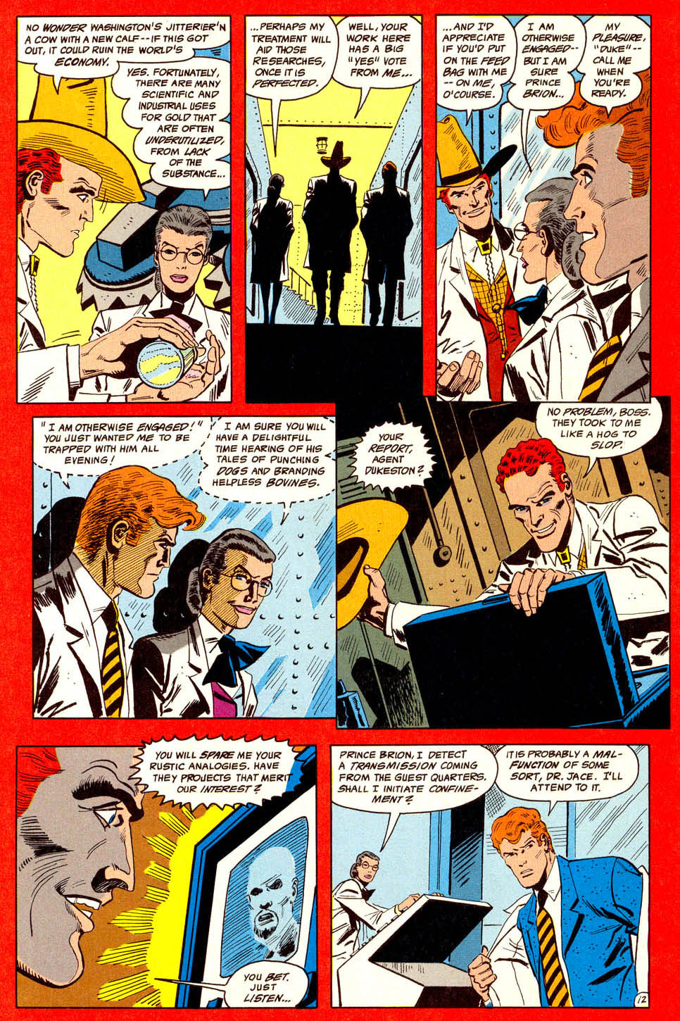 Read online Adventures of the Outsiders comic -  Issue #44 - 13
