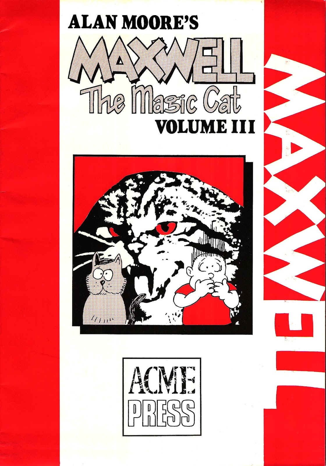 Read online Alan Moore's Maxwell the Magic Cat comic -  Issue #3 - 1