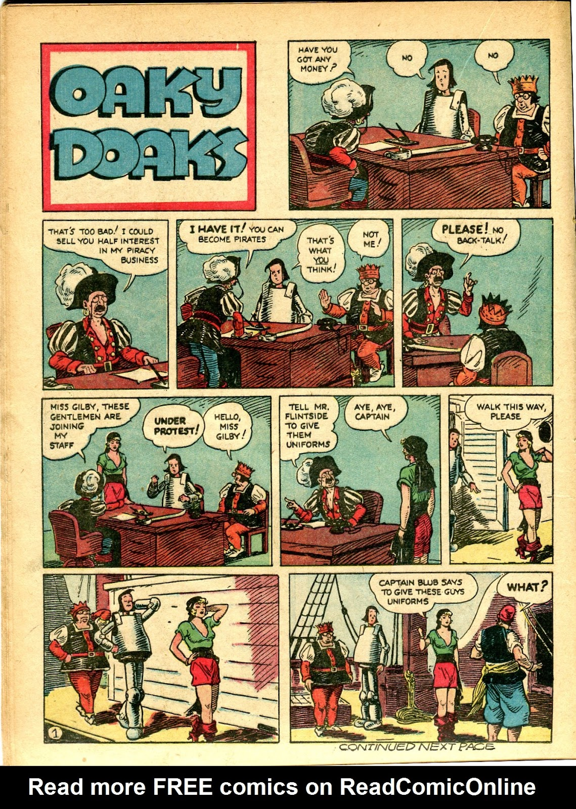 Read online Famous Funnies comic -  Issue #77 - 37