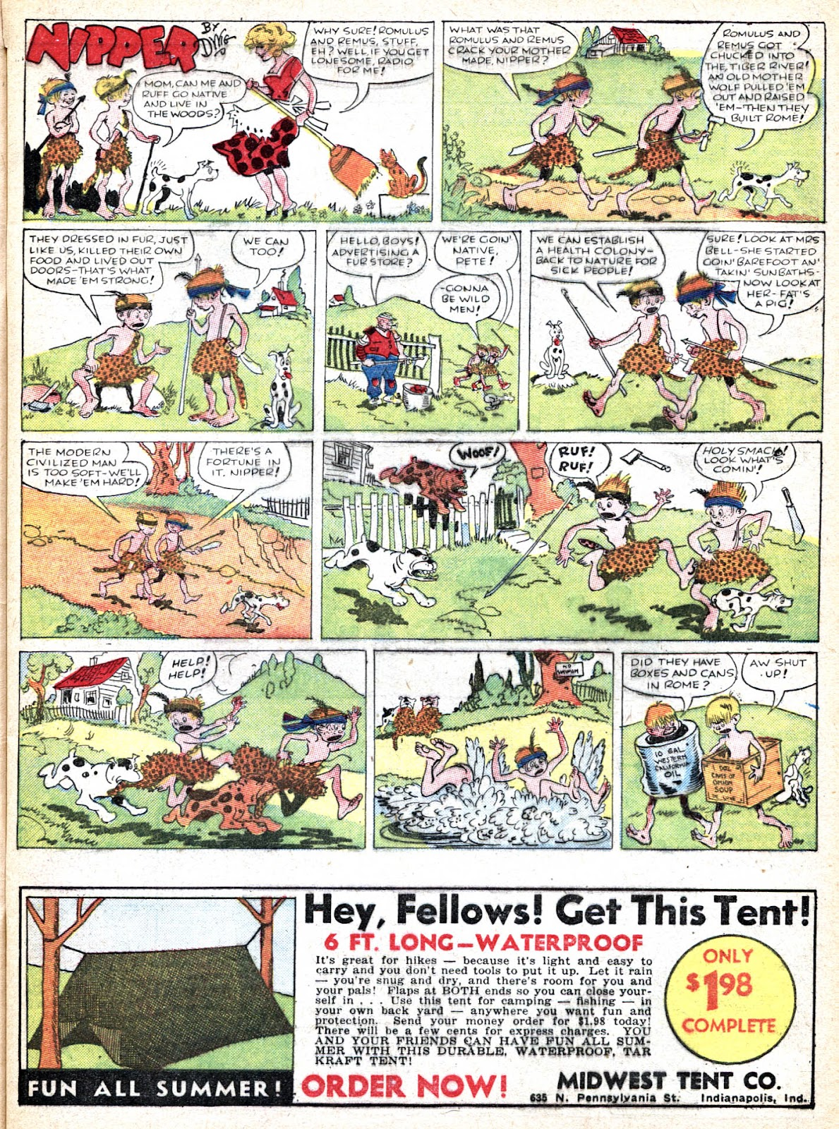 Read online Famous Funnies comic -  Issue #36 - 11