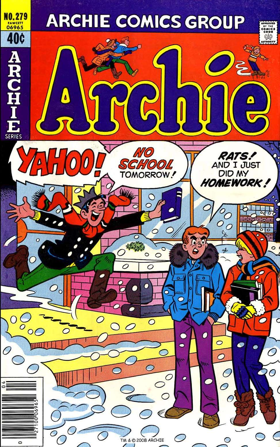 Read online Archie (1960) comic -  Issue #279 - 1