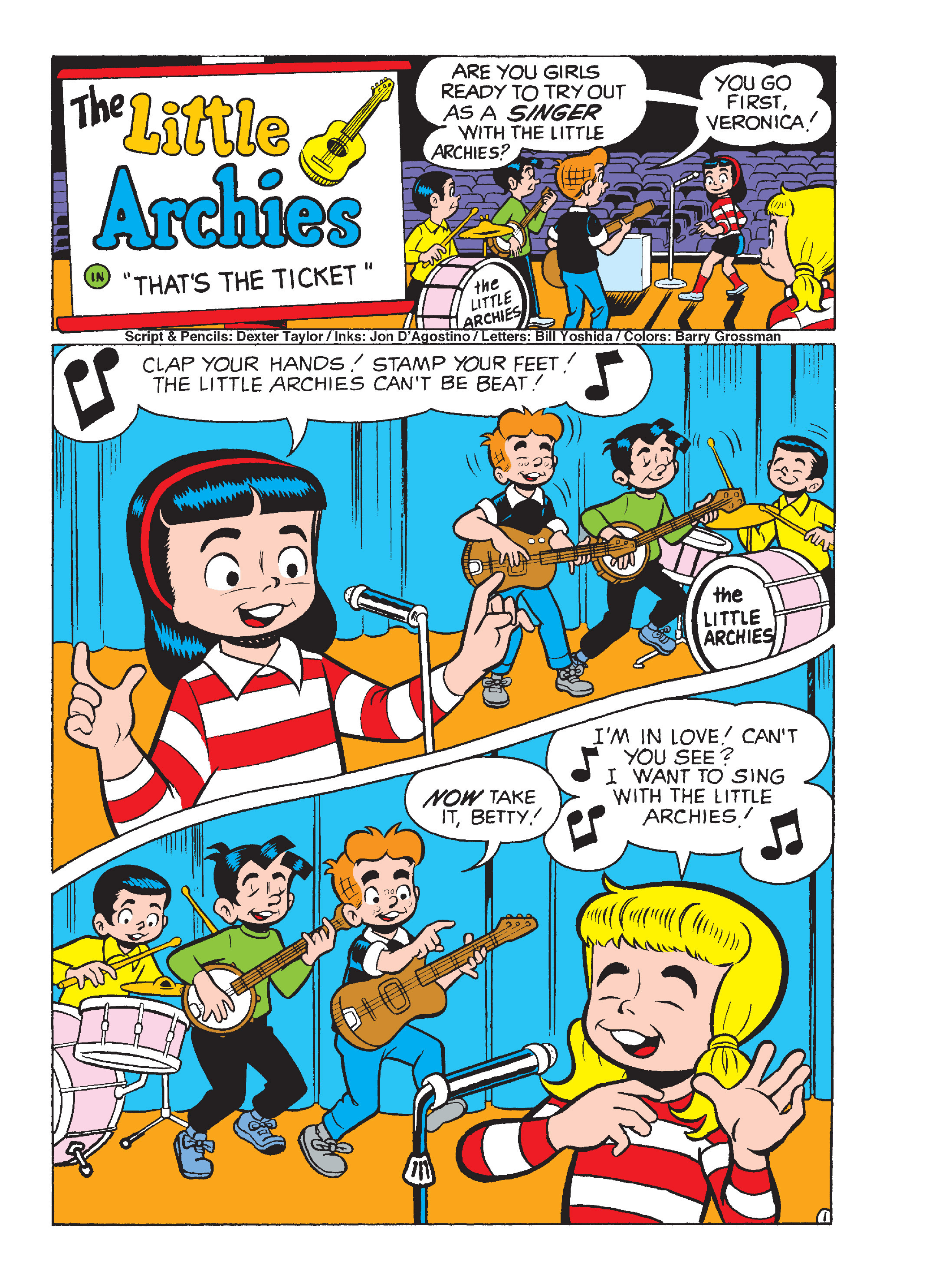 Read online Archie's Funhouse Double Digest comic -  Issue #15 - 249