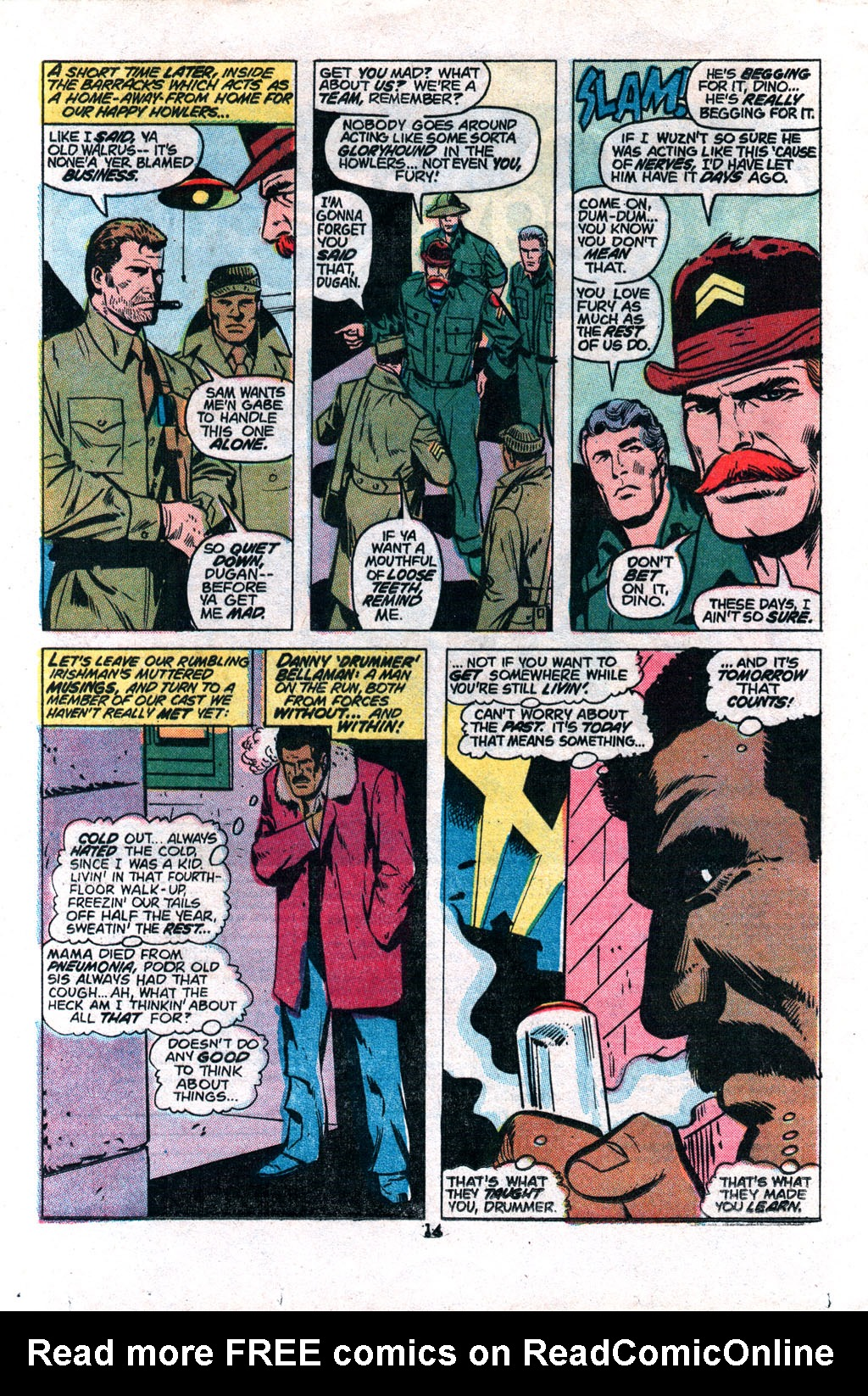 Read online Sgt. Fury comic -  Issue #117 - 16