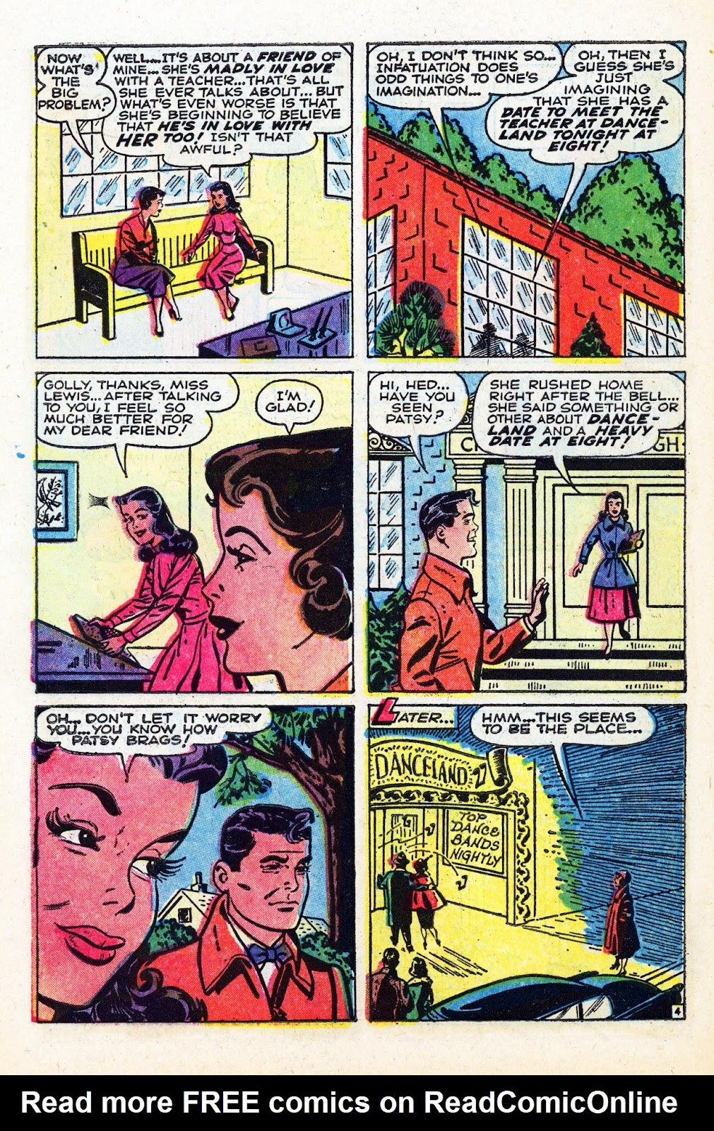 Read online Patsy Walker comic -  Issue #58 - 6
